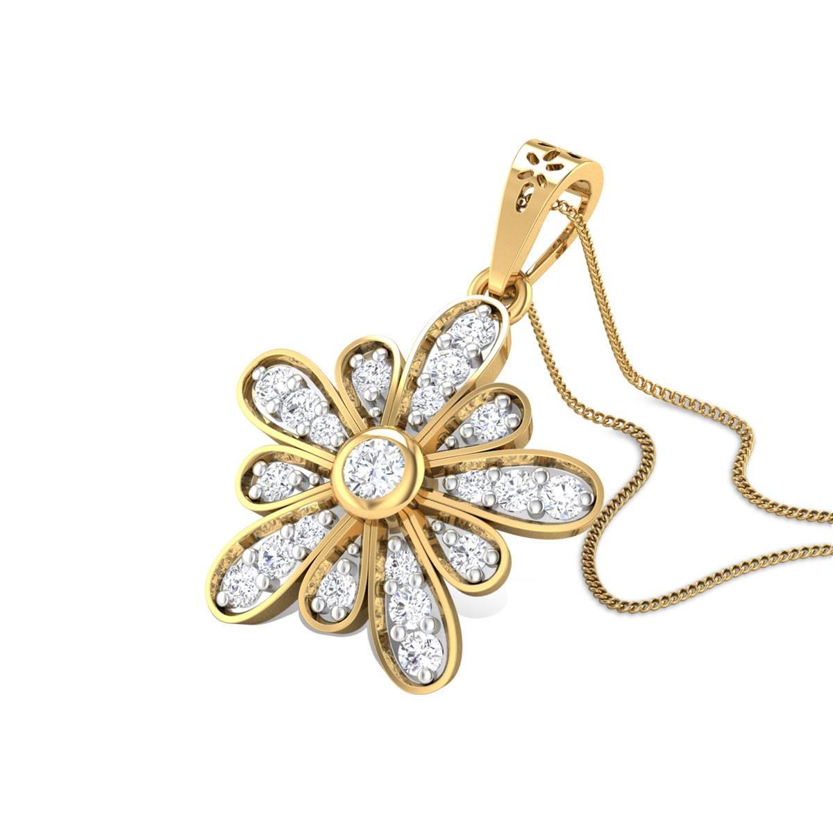 Love Scarlet Diamond Pendant