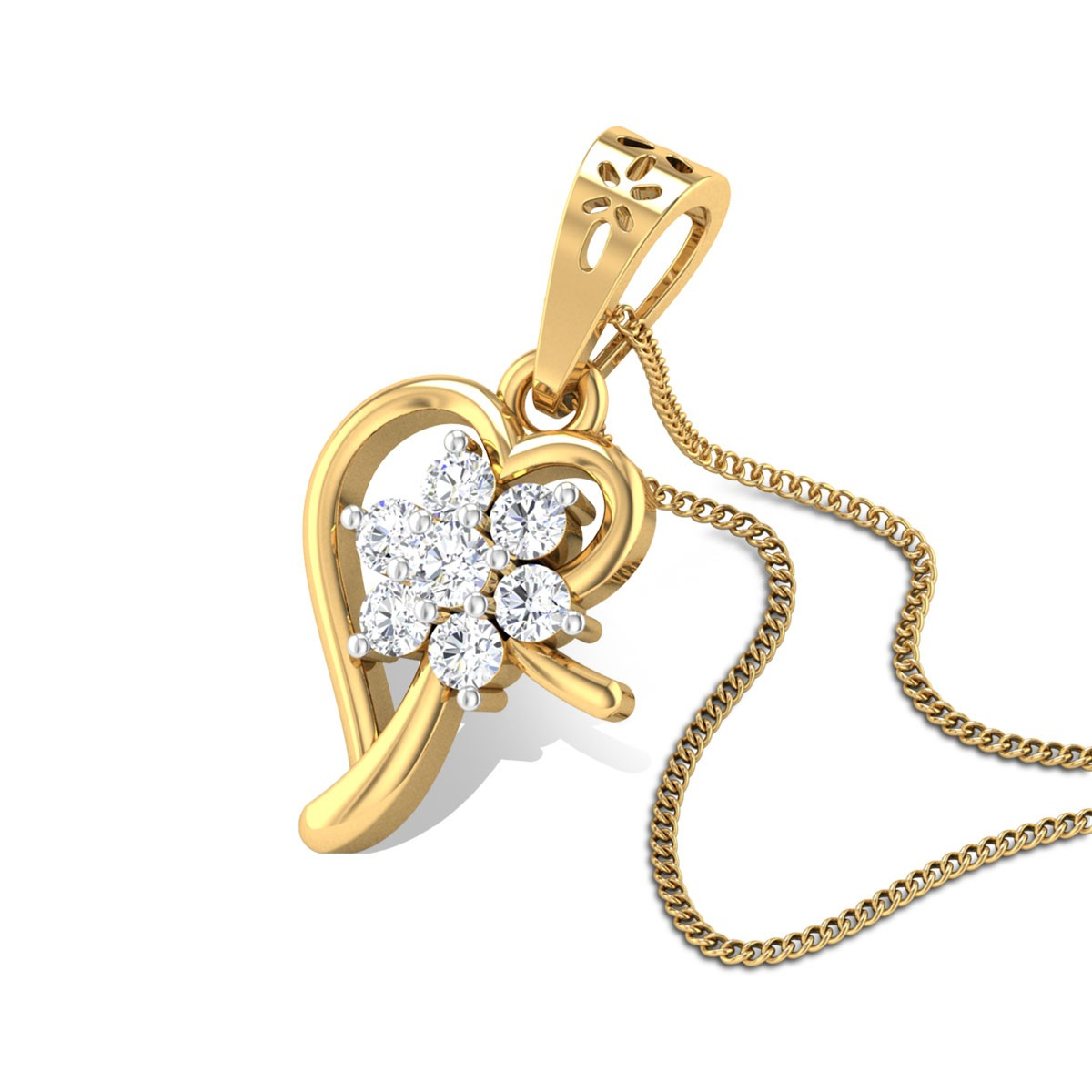 Rubia Diamond Pendant