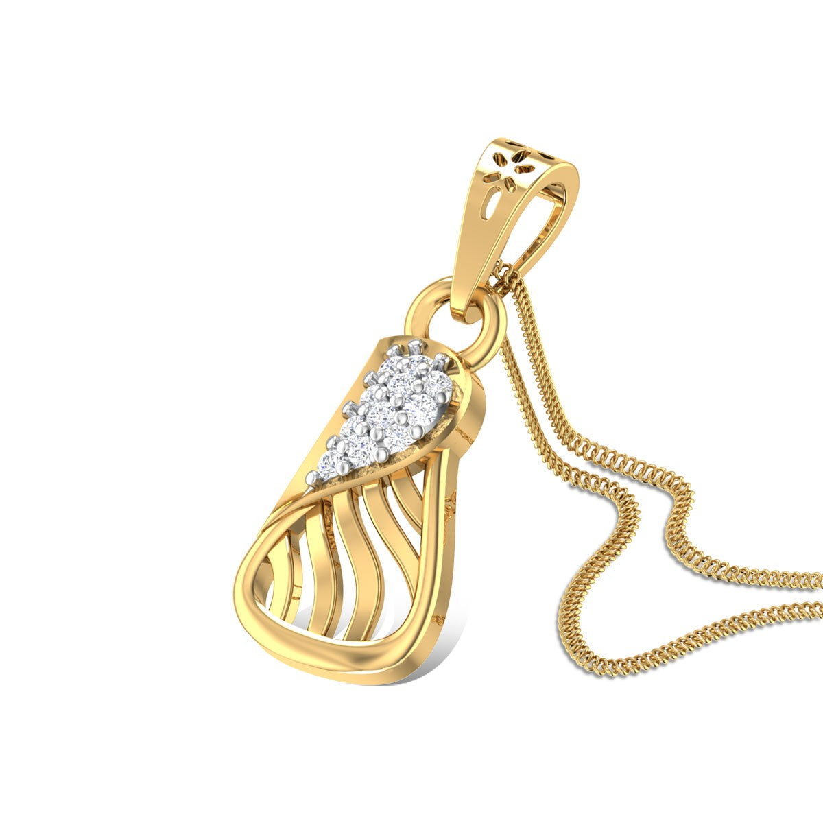 Desira Diamond Pendant