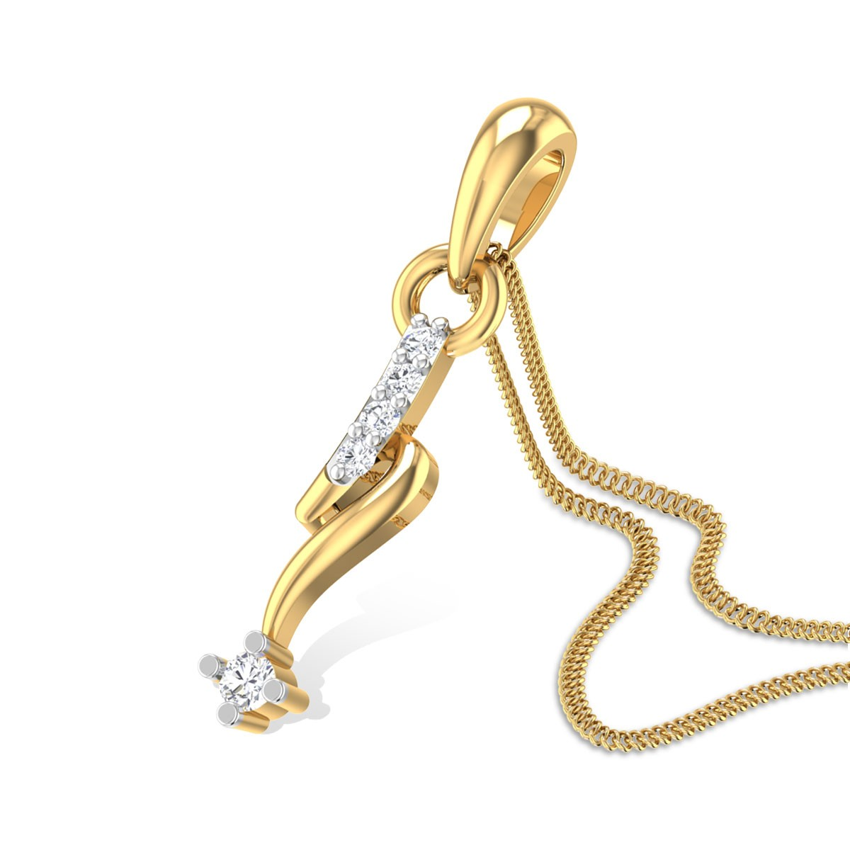 Dew Drop Diamond Pendant