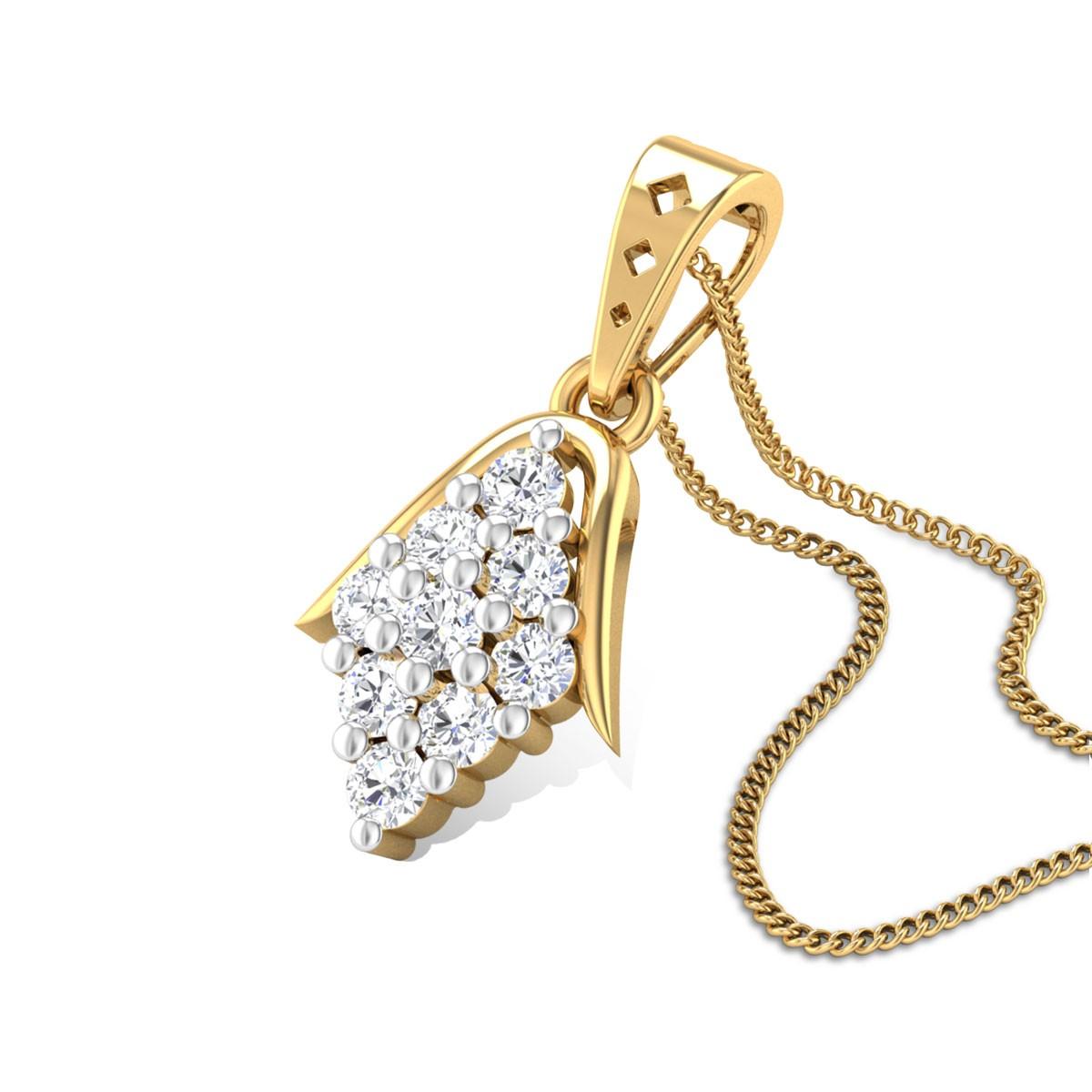 Sundew Diamond Pendant