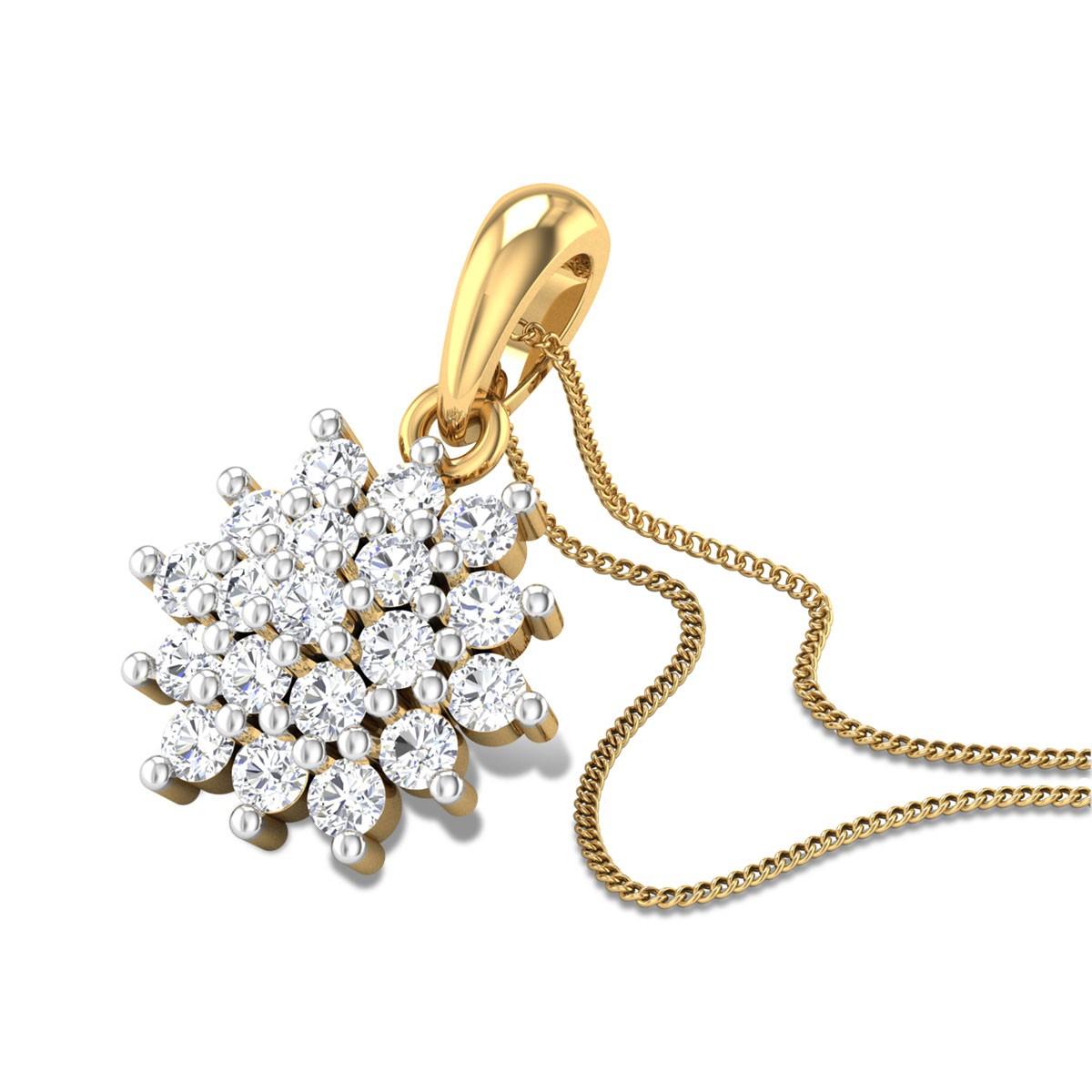 Snowdrop Diamond Pendant