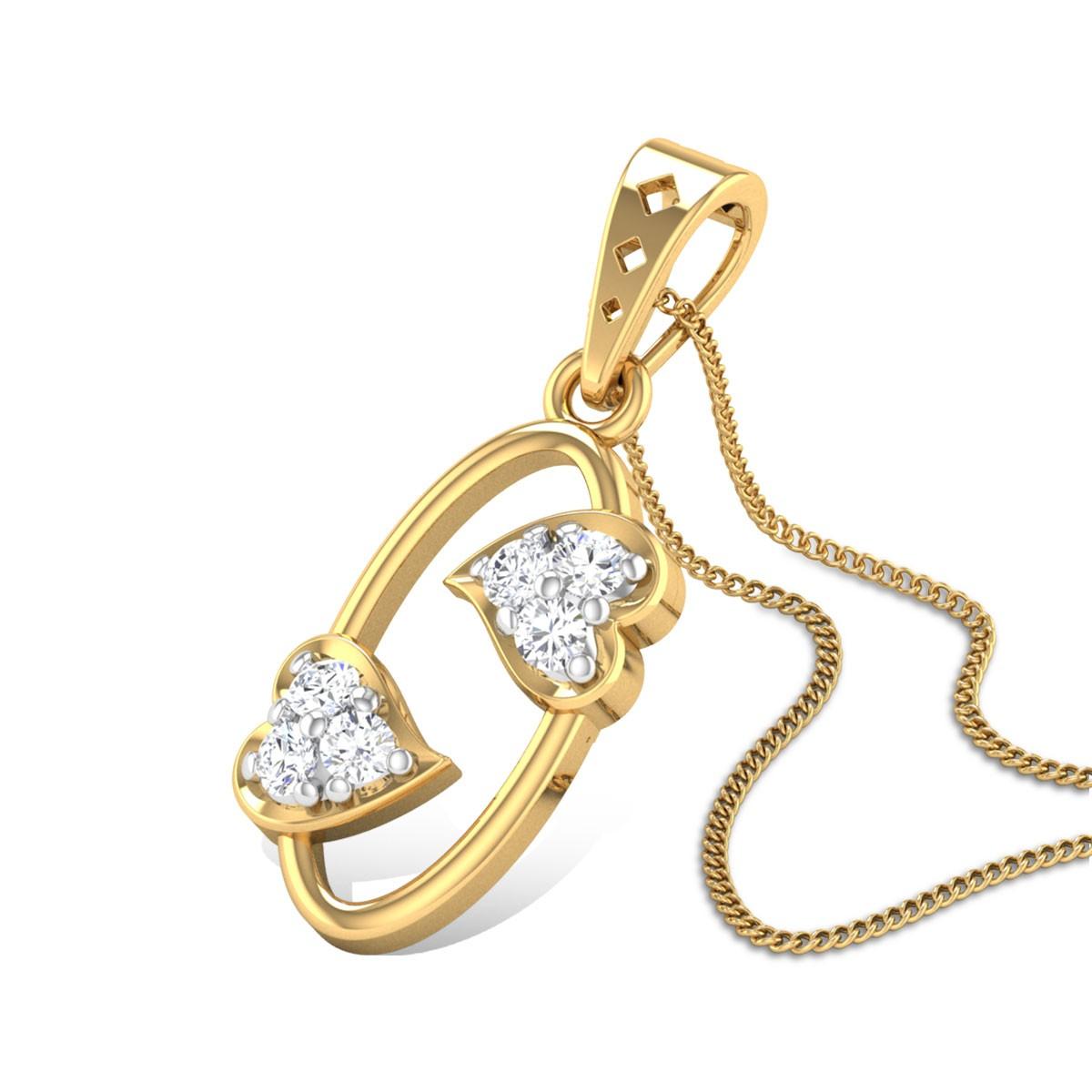Fidility Diamond Pendant