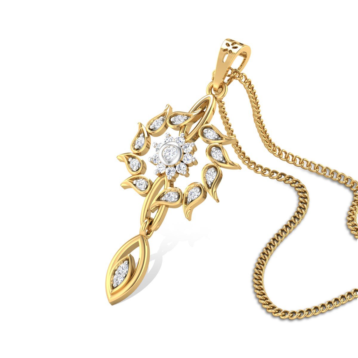 Argentine Diamond Pendant