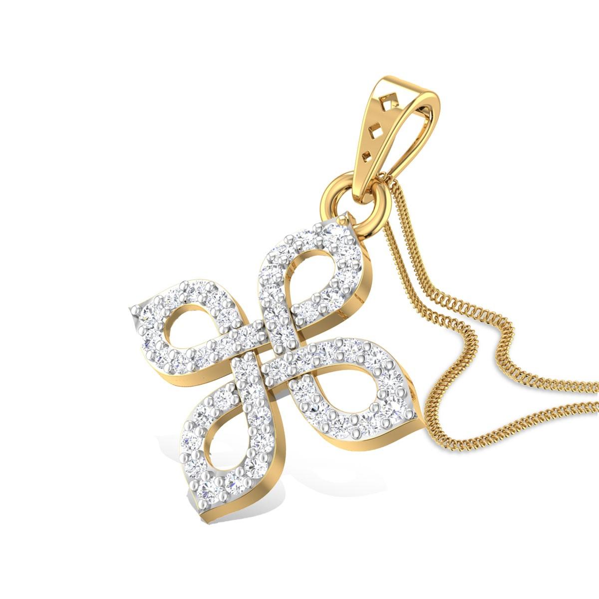 Fraise Diamond Pendant