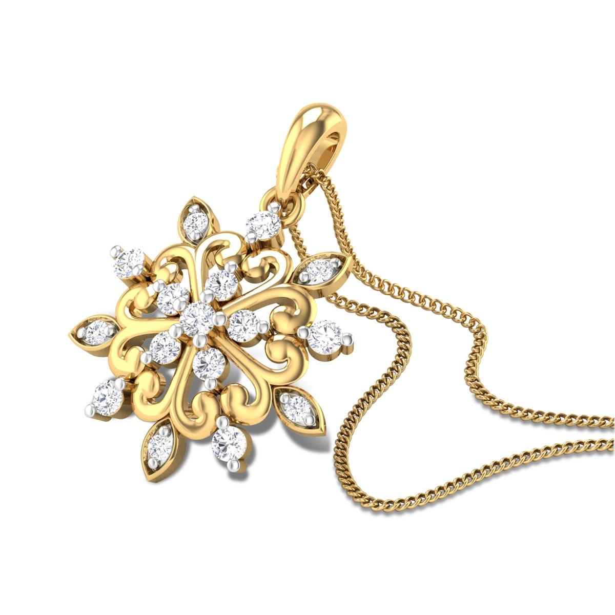Teasel Diamond Pendant