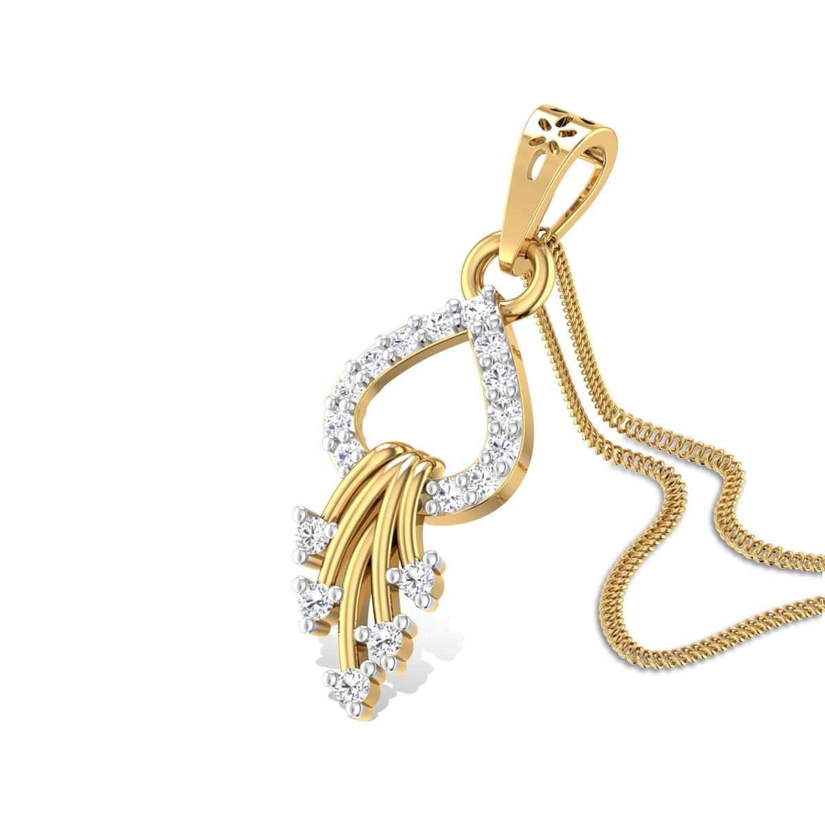 Love Charms Diamond Pendant