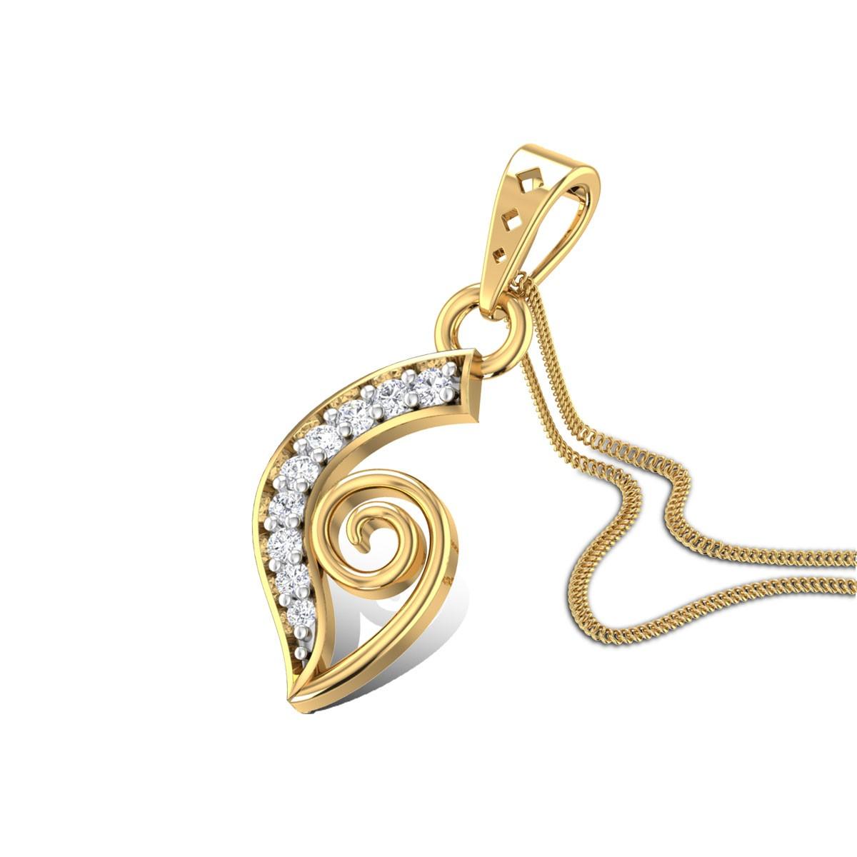 Tranqulity Diamond Pendant