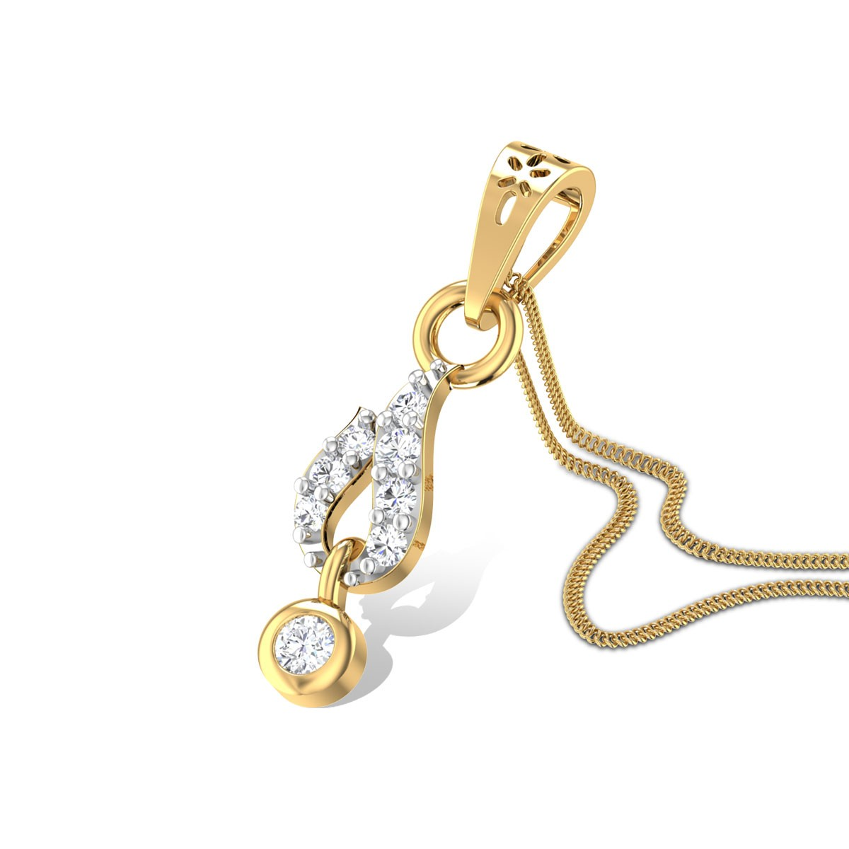 Eloquence Diamond Pendant