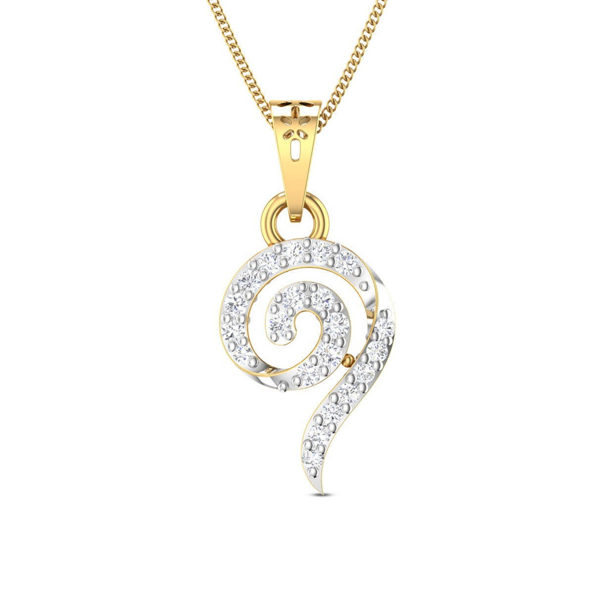 Rufina Diamond Pendant