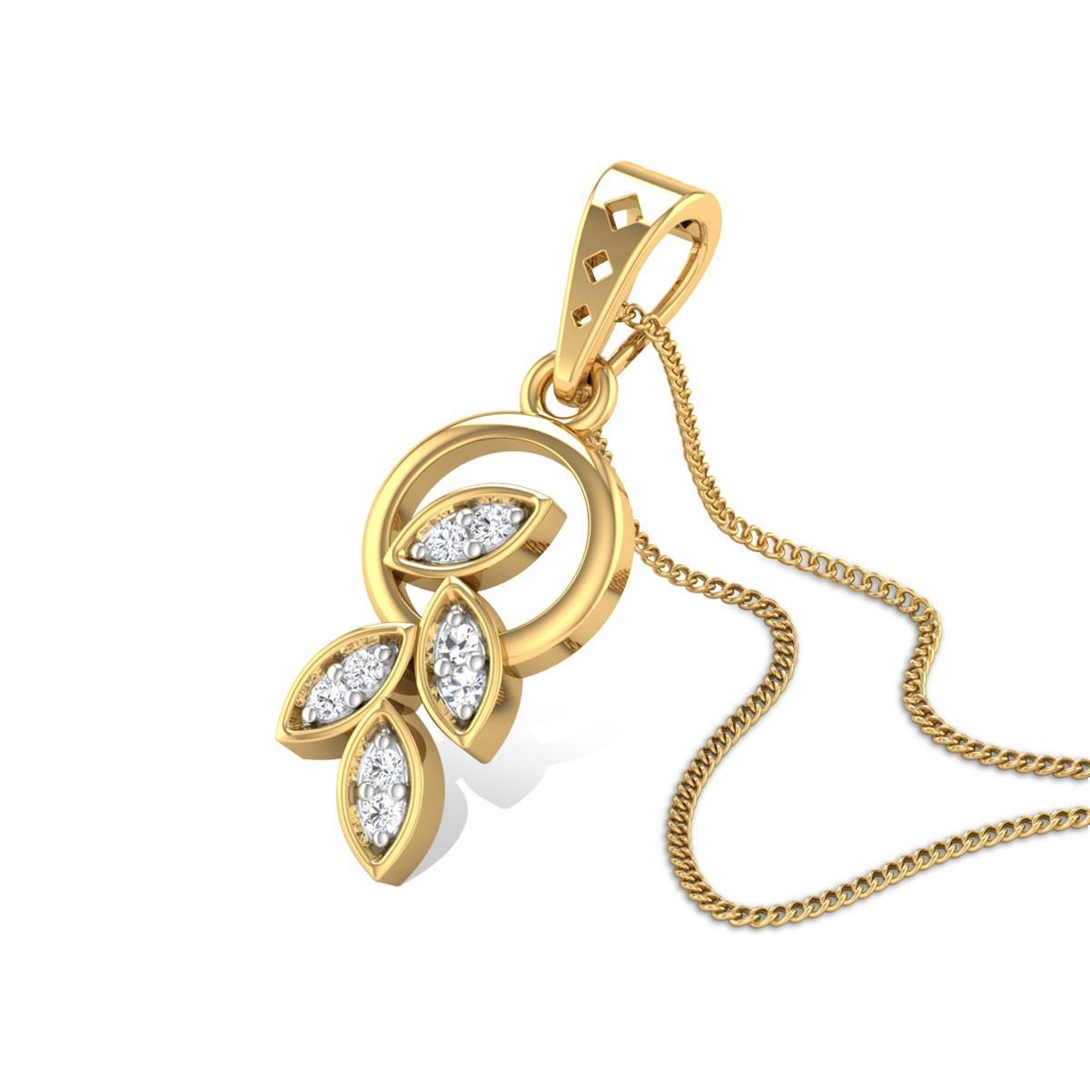 Centaura Diamond Pendant