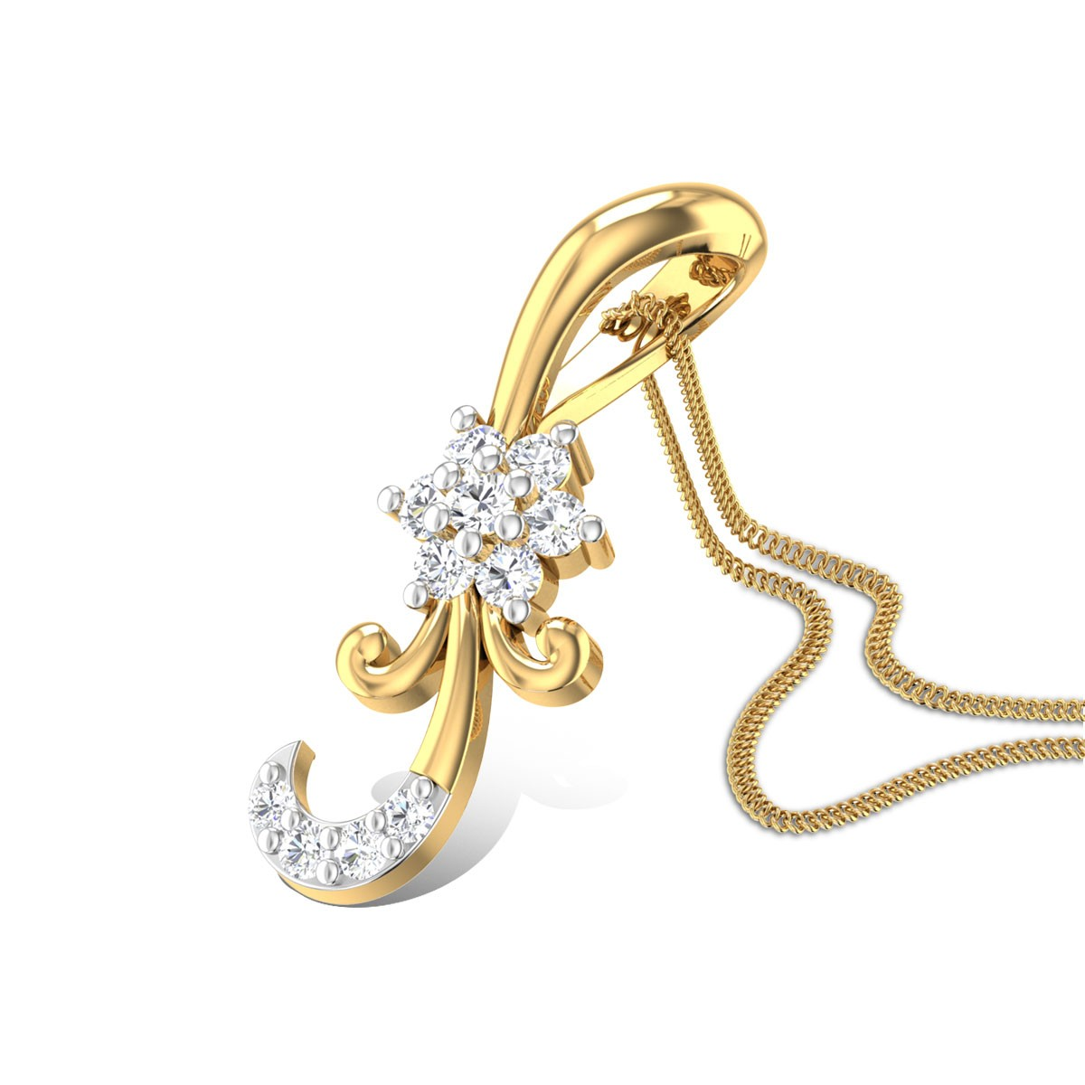 Goldenfleece Diamond Pendant