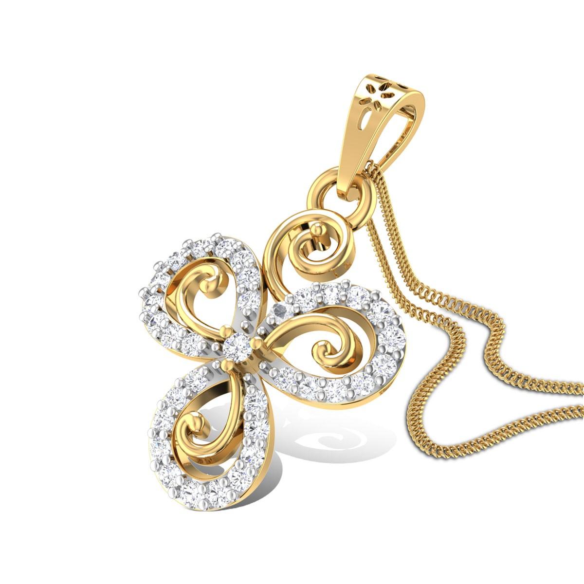 Heliotrop Diamond Pendant