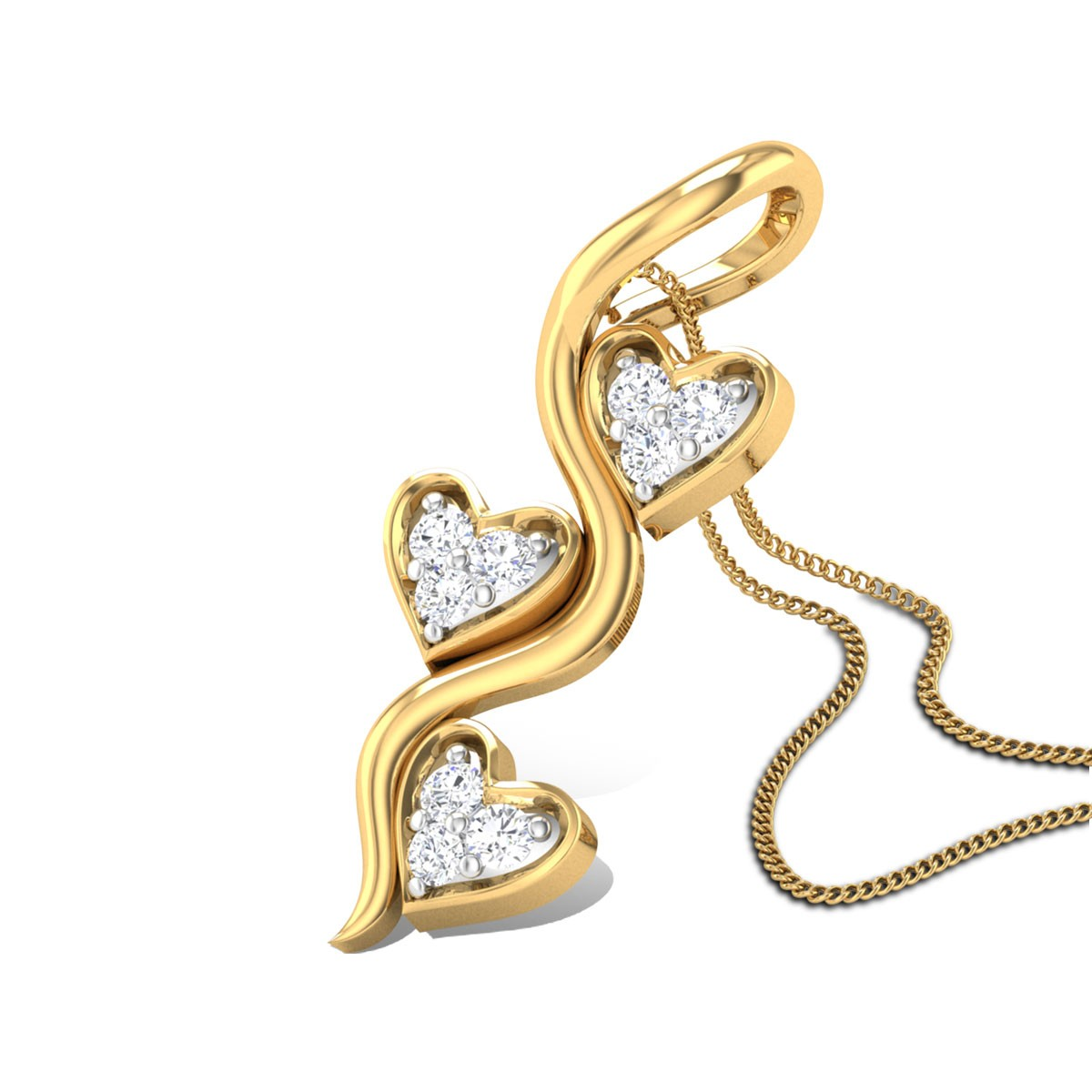 Passion dew Diamond Pendant