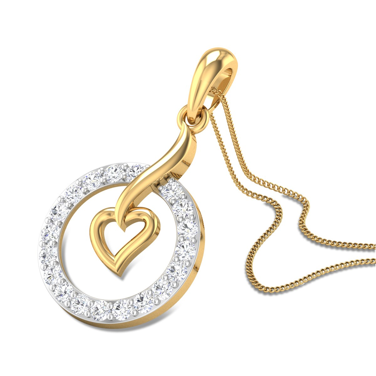 Secret Crush Diamond Pendant