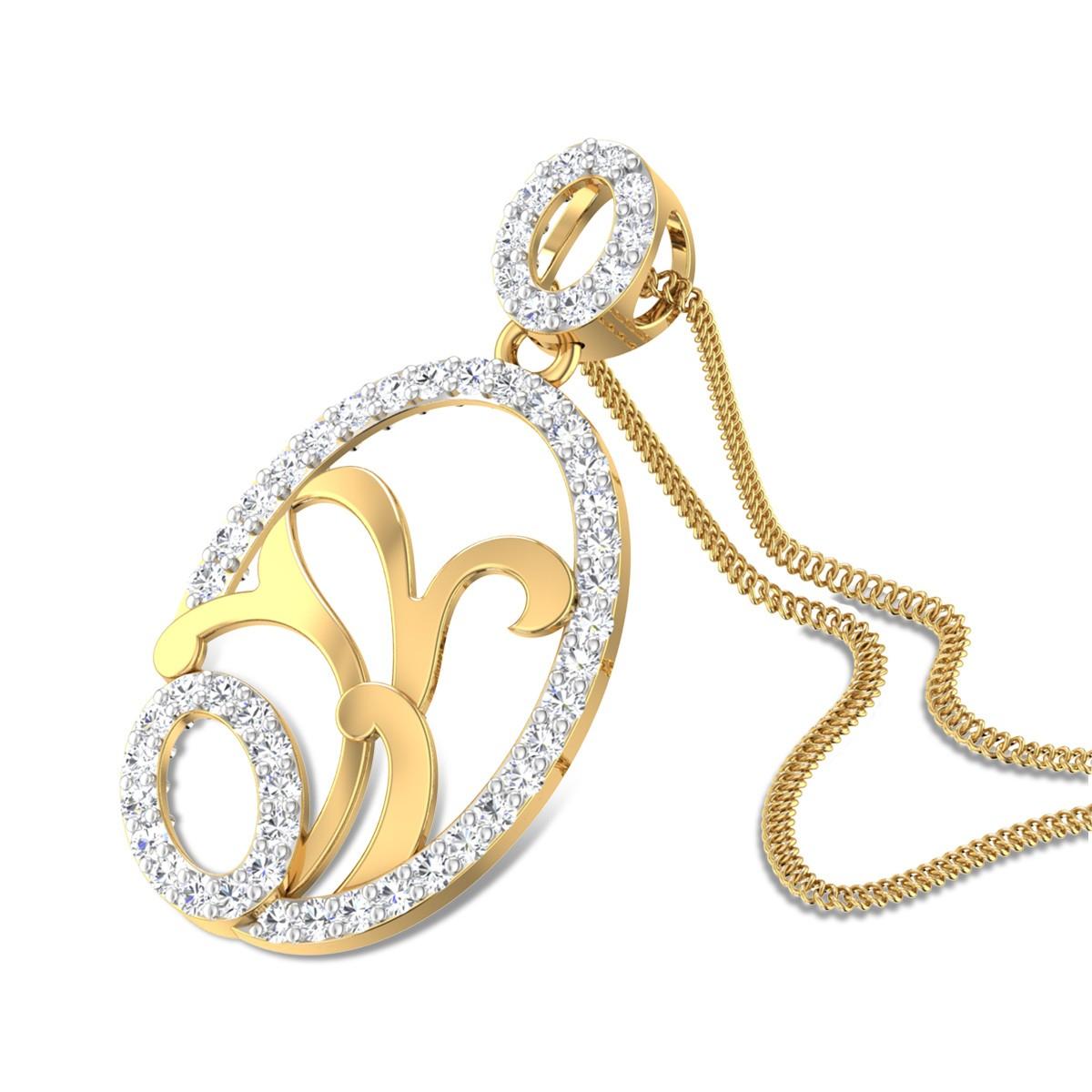 White Pine Diamond Pendant