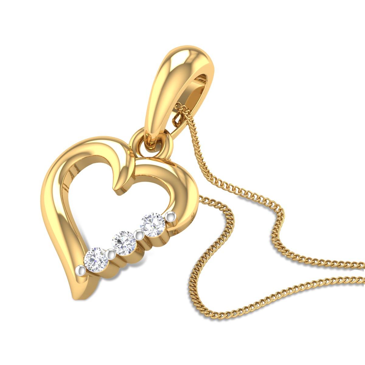 Coy Love Diamond Pendant