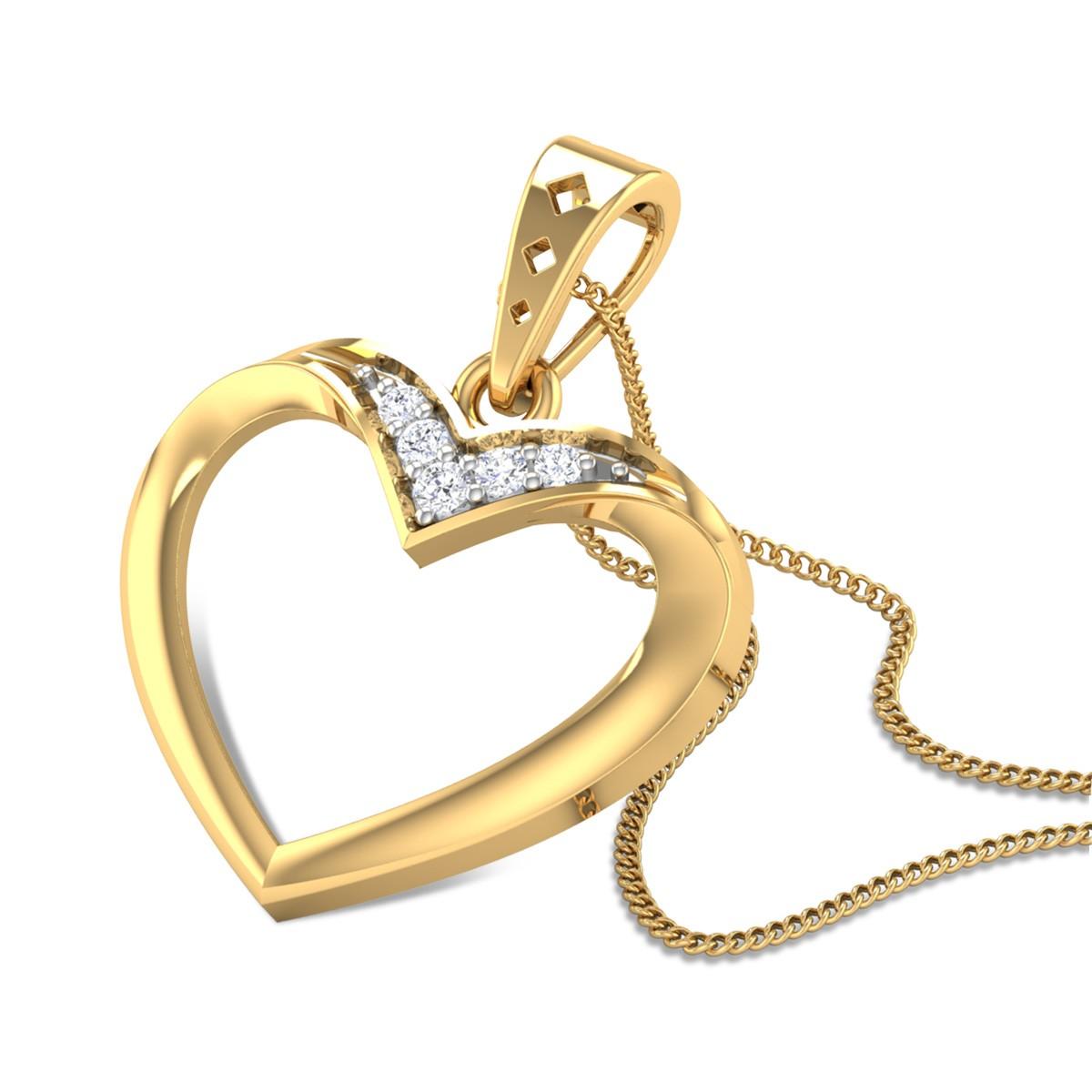 Simply Love Diamond Pendant