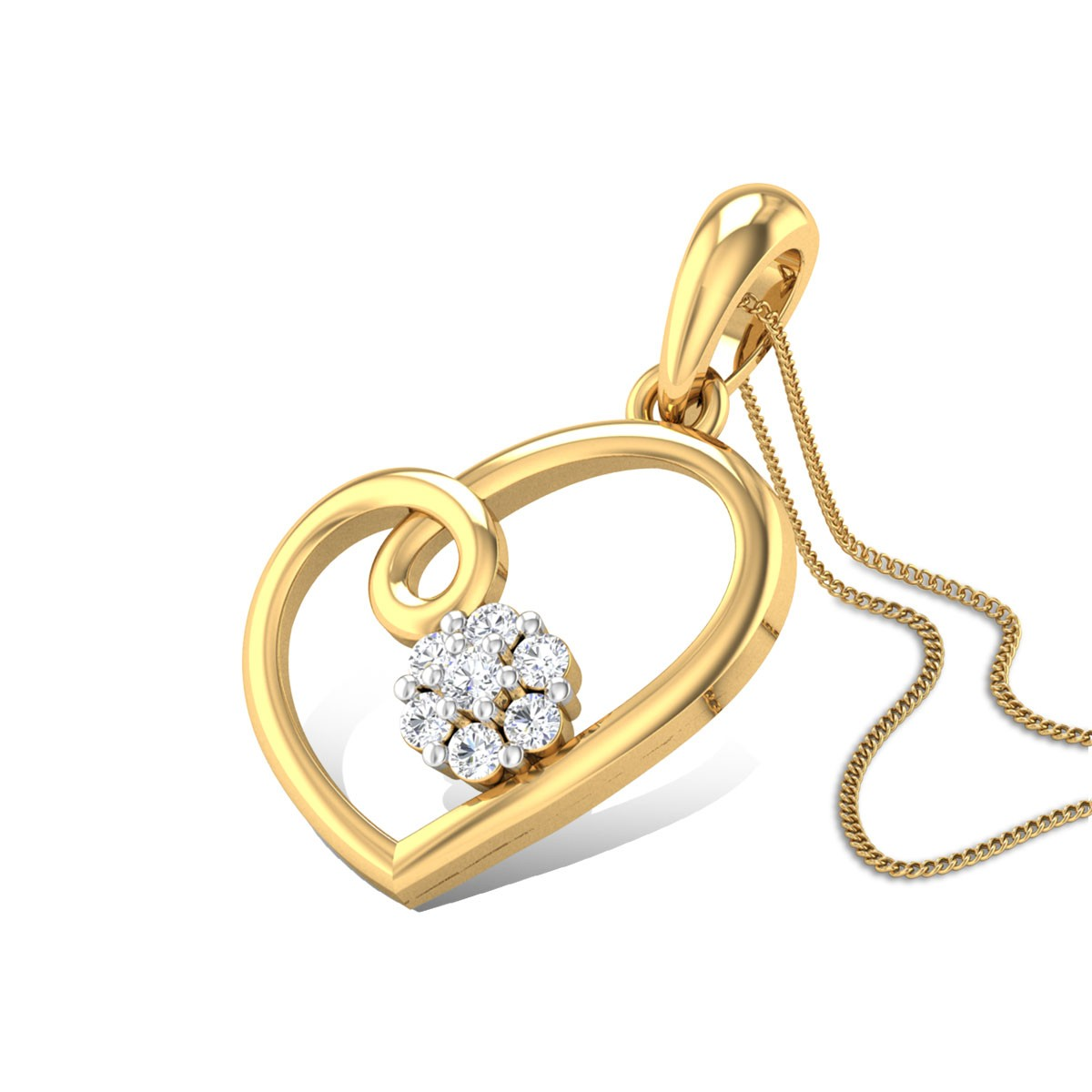 Balsam Love Diamond Pendant