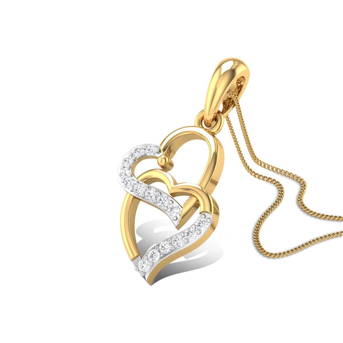 Endine Love Diamond Pendant