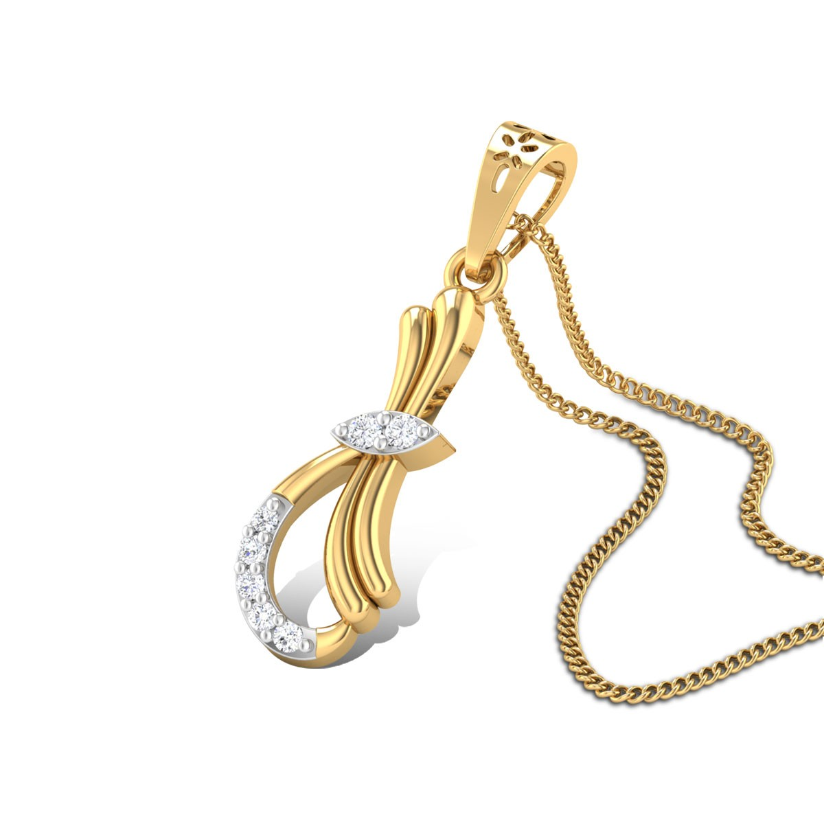 Eglantine poetry Diamond Pendant