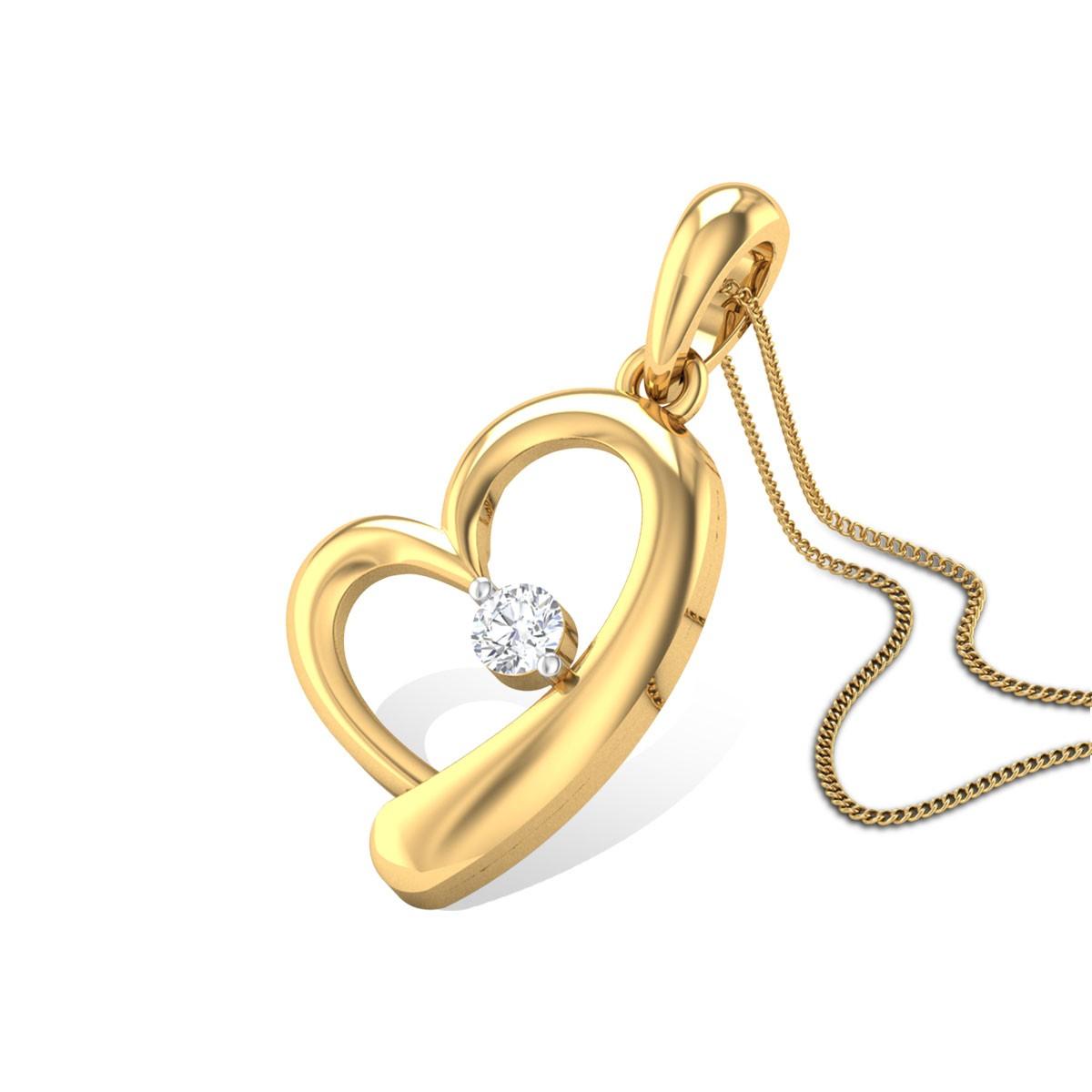 Persistent Love Diamond Pendant