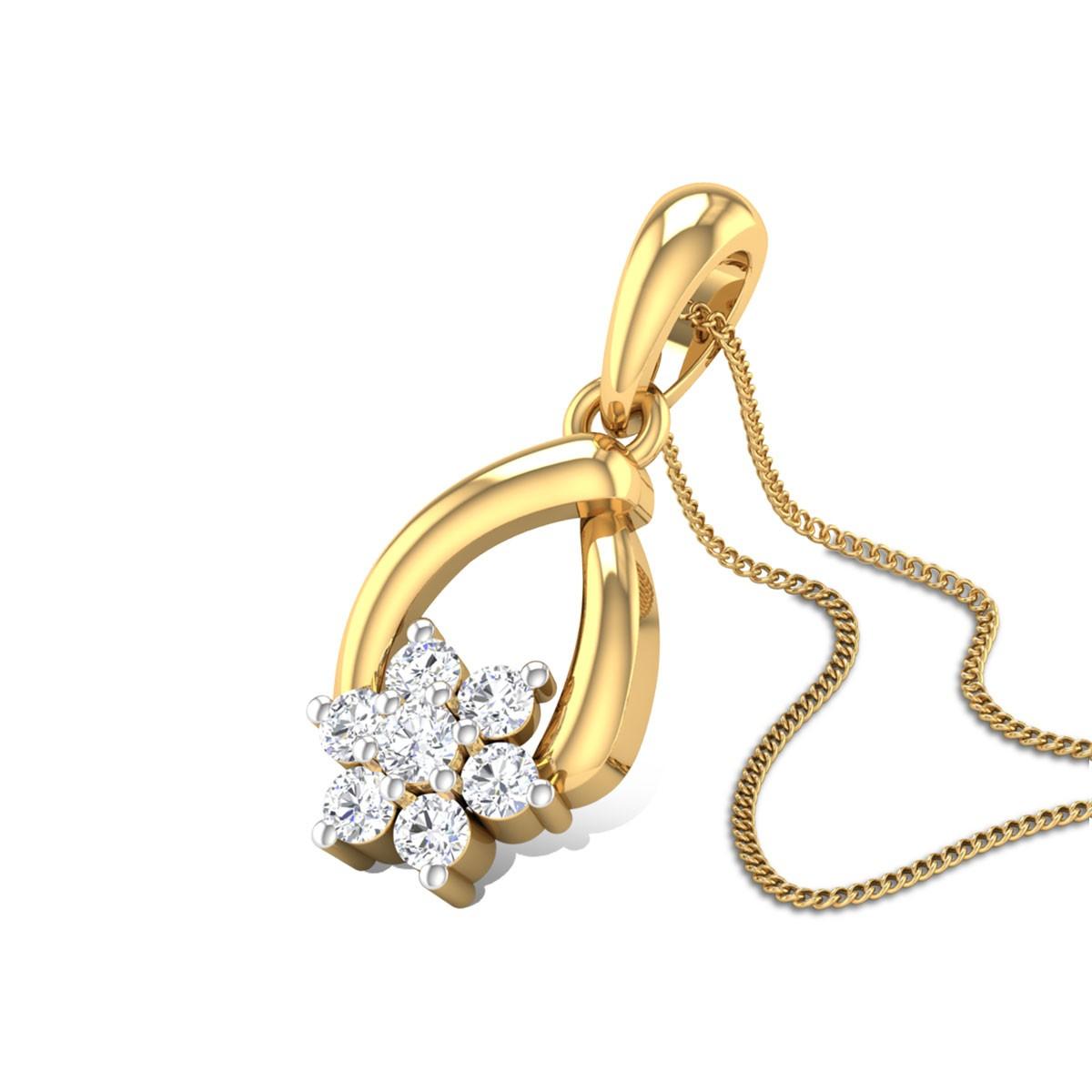 Sensuality Diamond Pendant