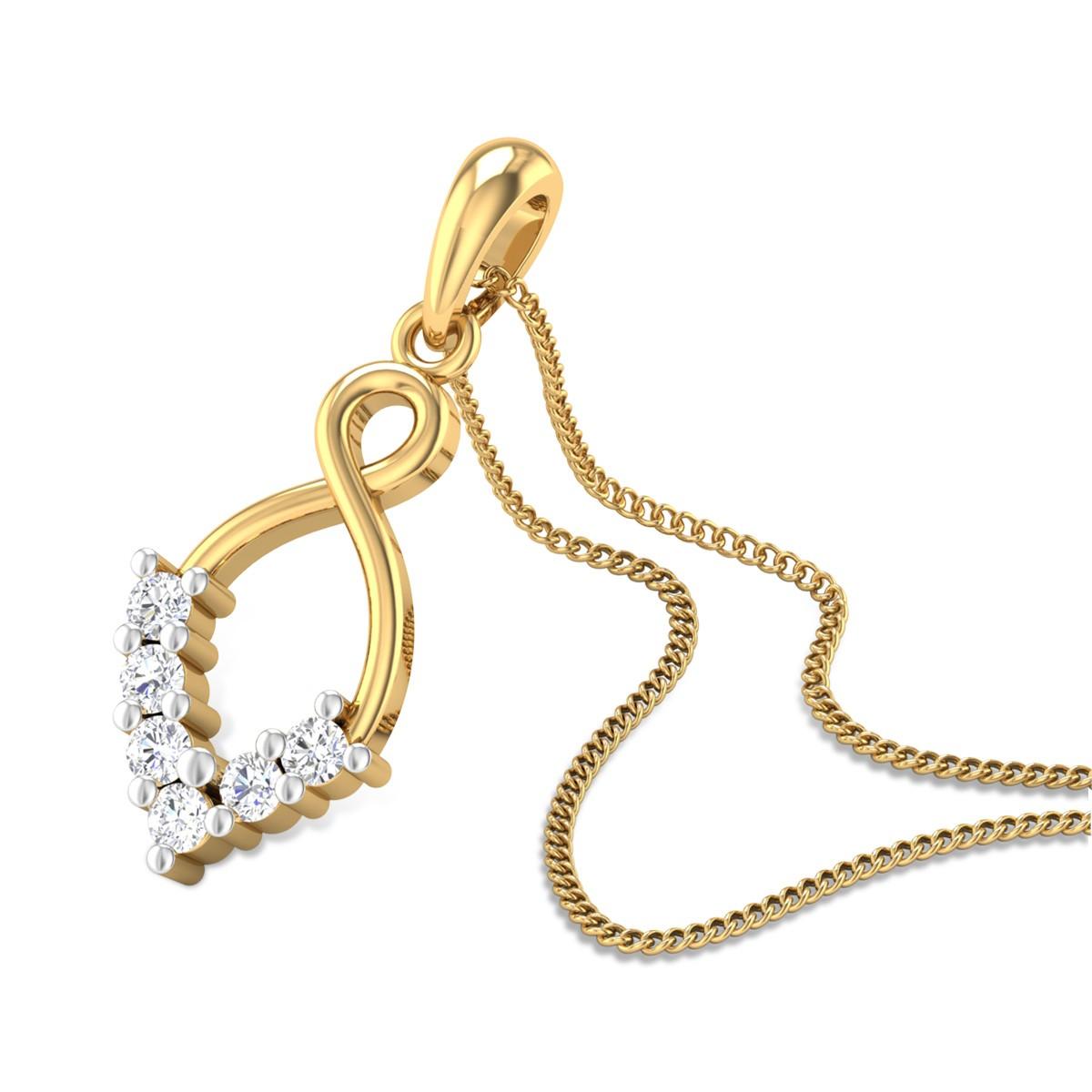 Toshani Diamond Pendant