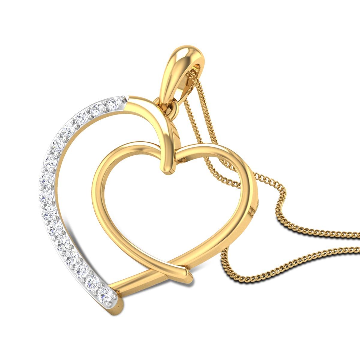 Secret Love Diamond Pendant