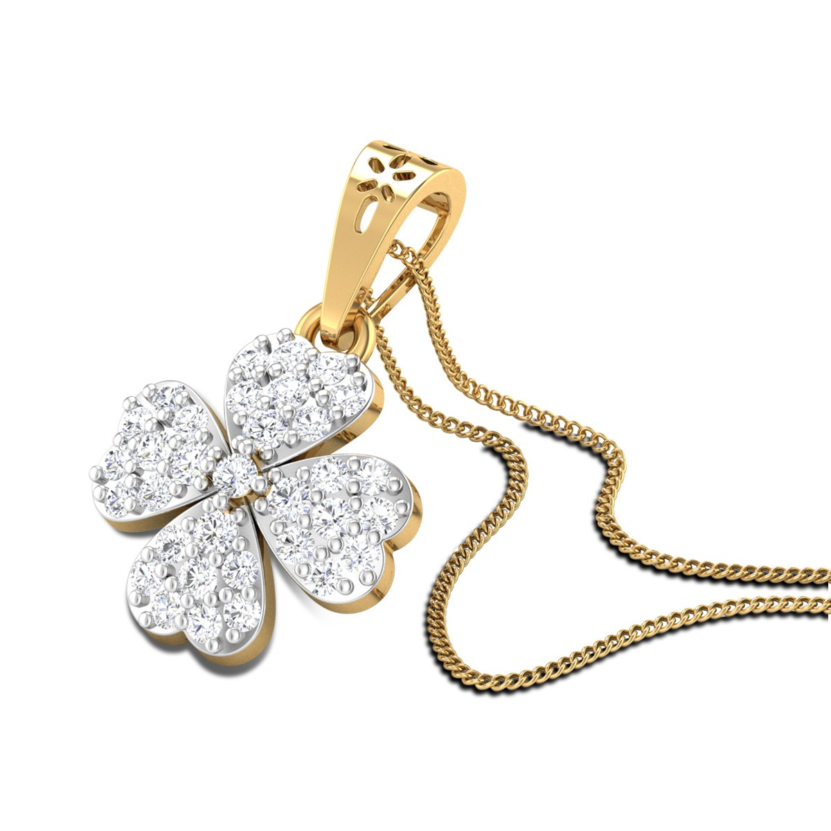 Rosemerry Diamond Pendant