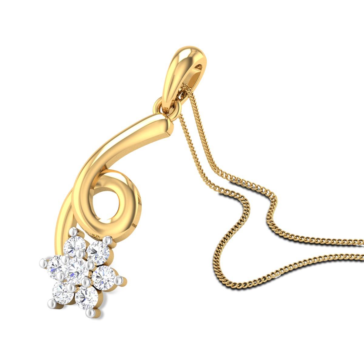 Queen of Hearts Diamond Pendant
