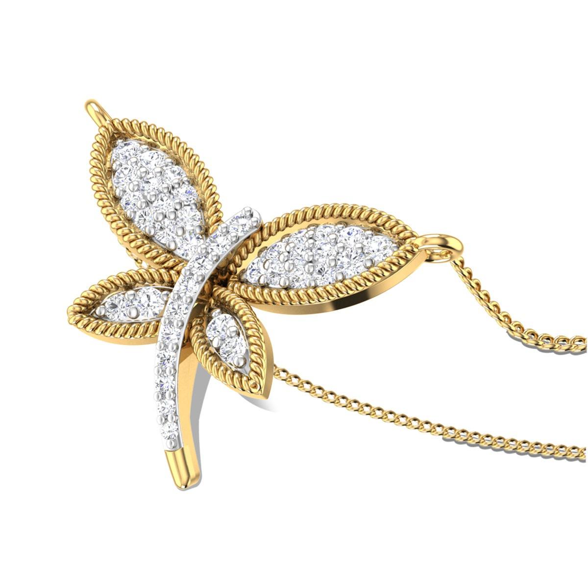 Firefly Spark Diamond Pendant