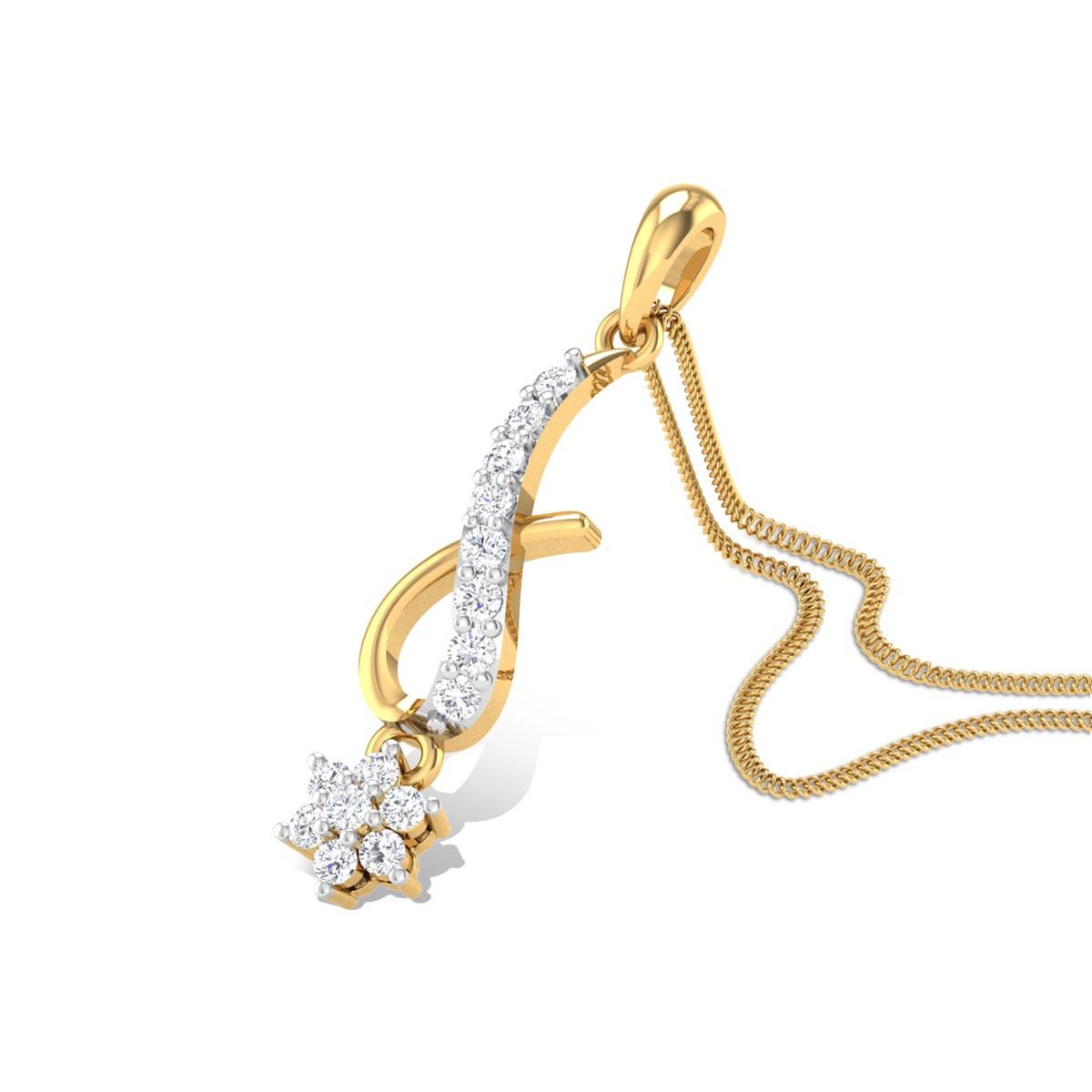 Merriment Diamond Pendant