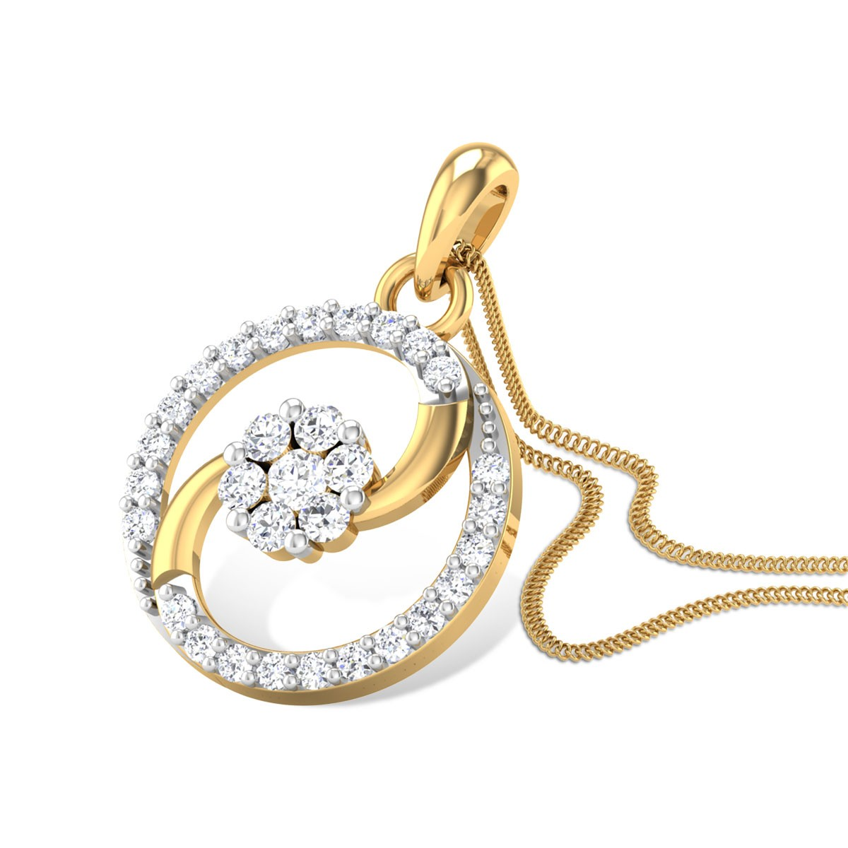 Fantasia Diamond Pendant
