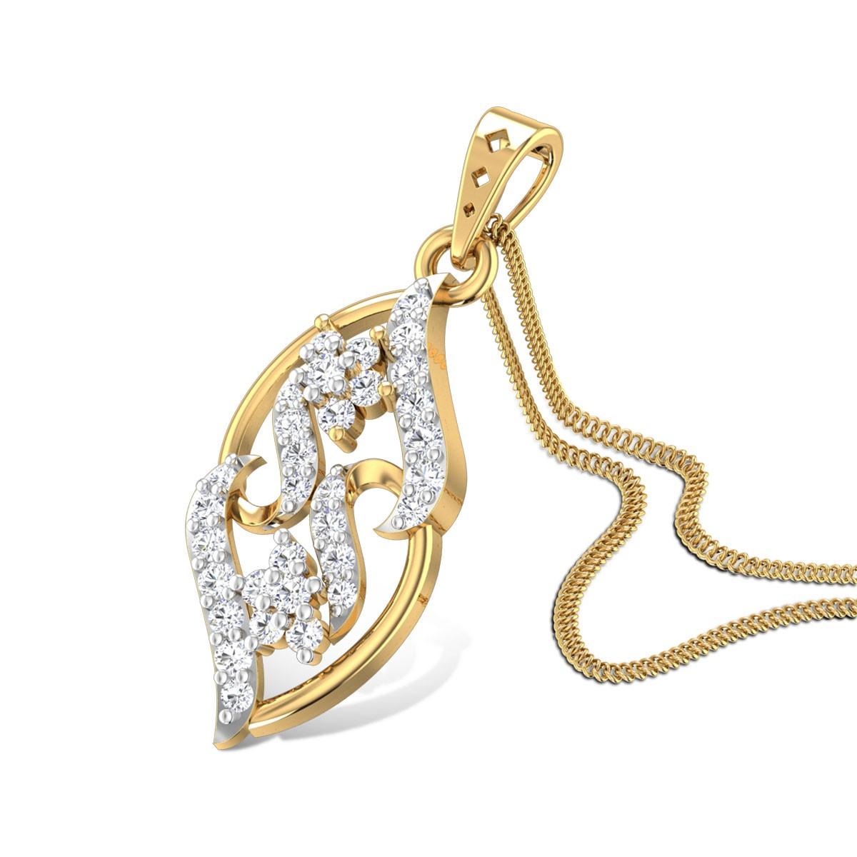 Lucia Diamond Pendant