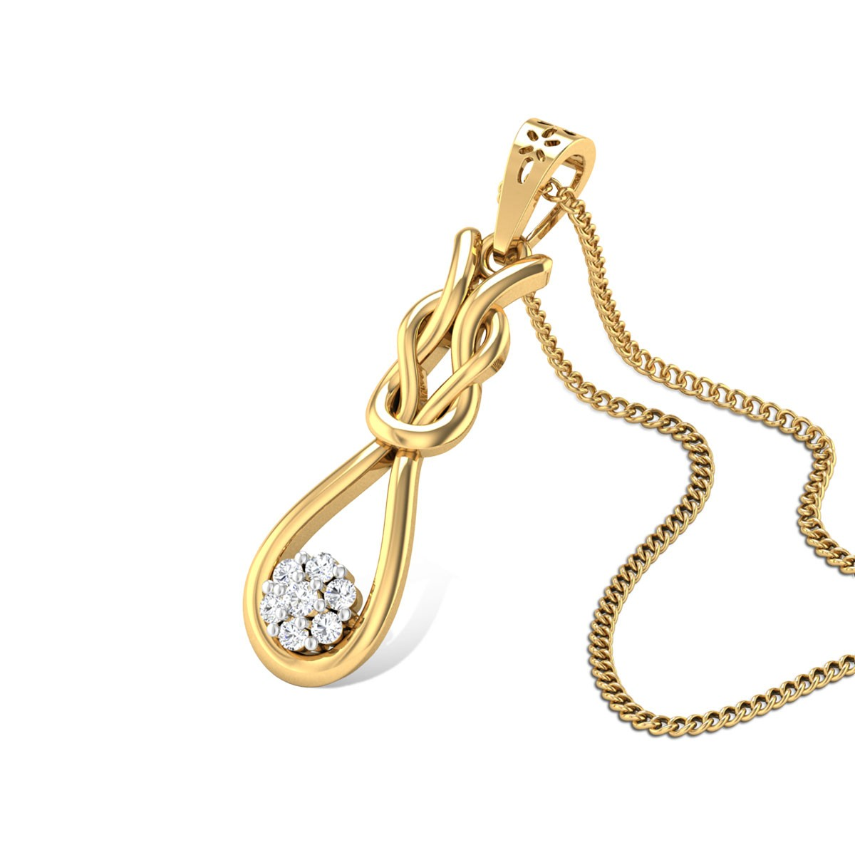 Infinity Reef Diamond Pendant