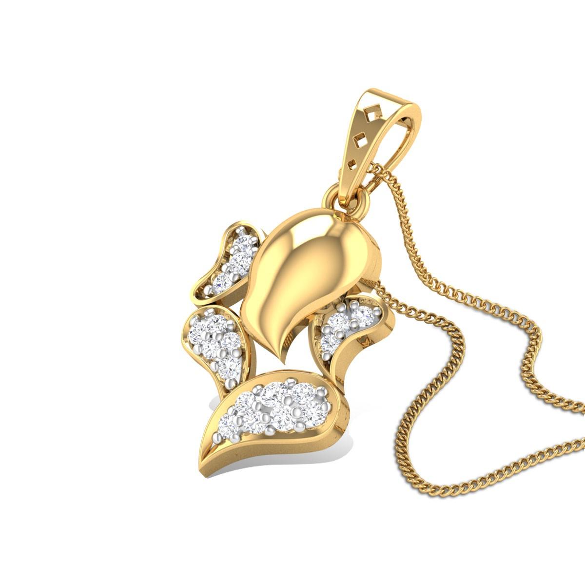 Vinayaka Diamond Pendant