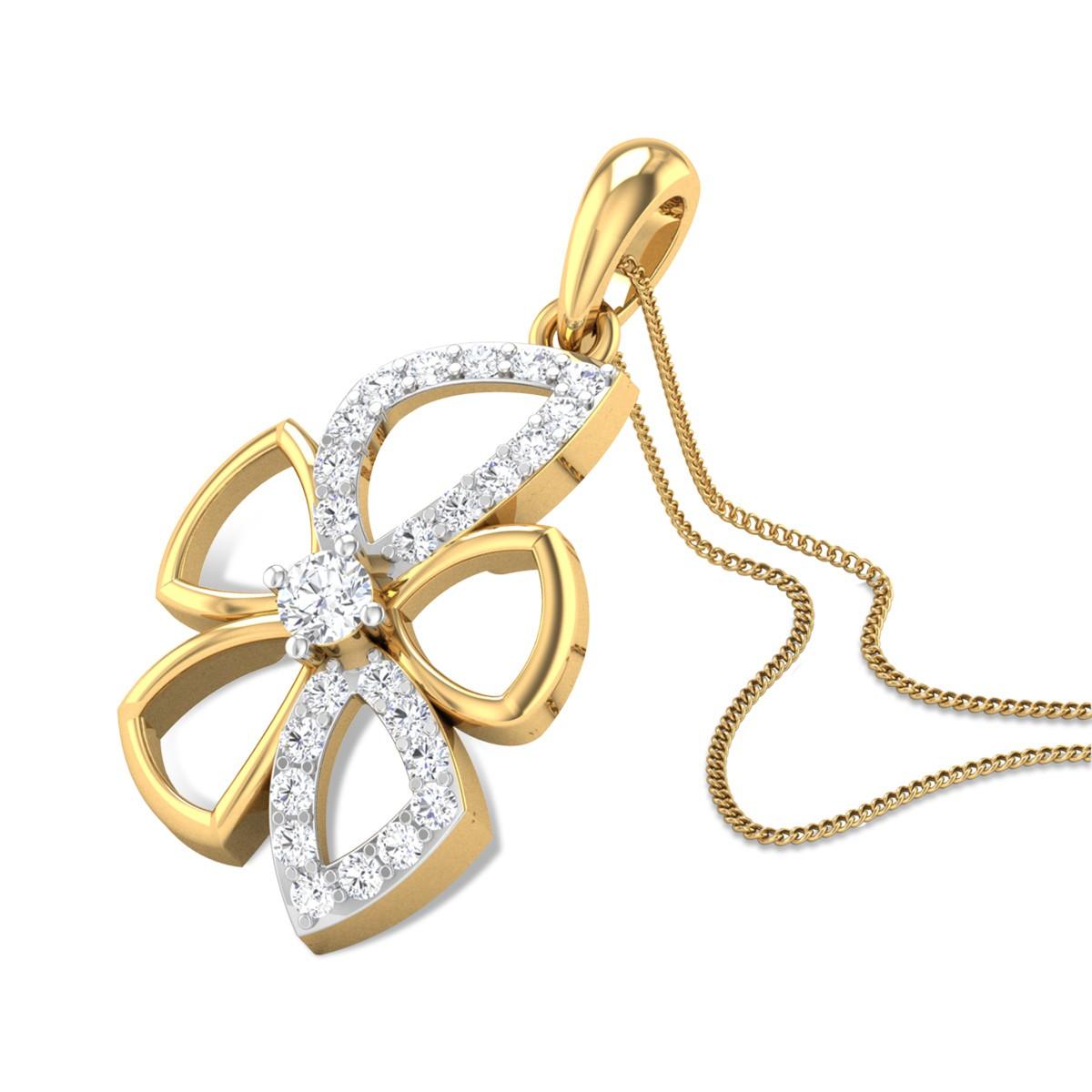 Eva Diamond Pendant