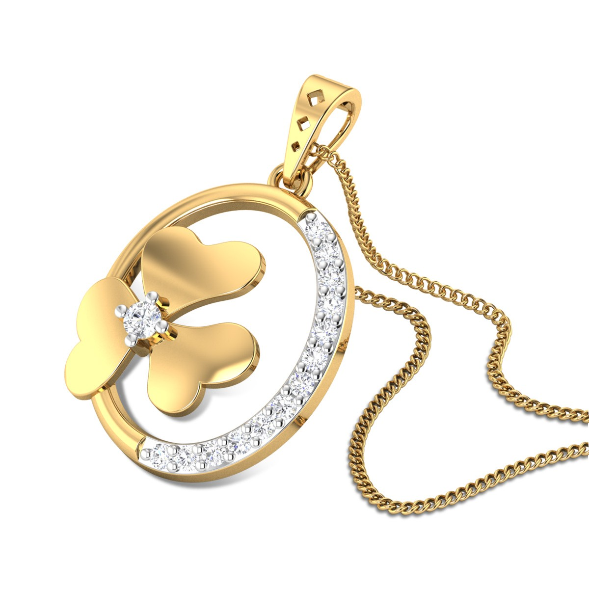 Leyre Diamond Pendant