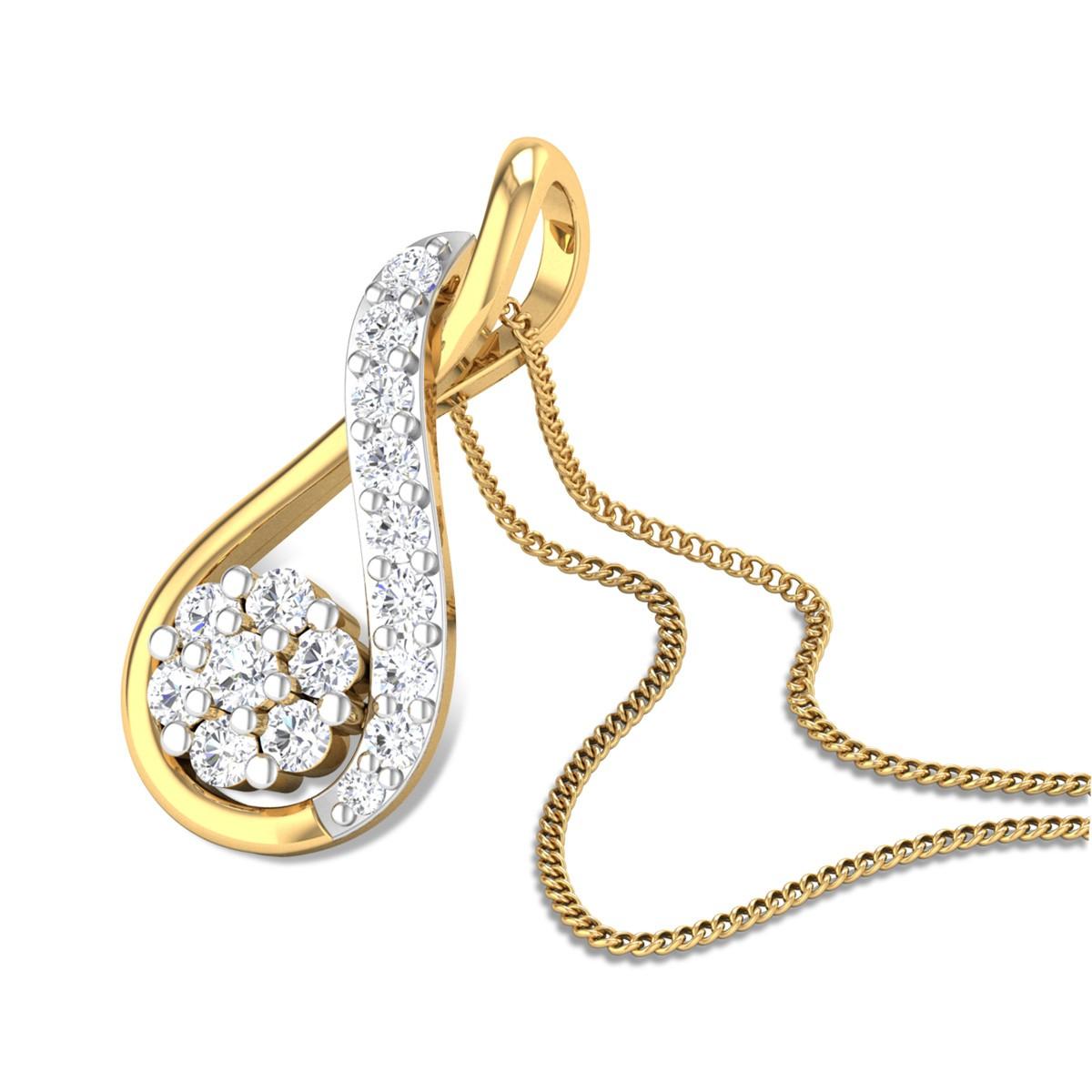 Caroline Diamond Pendant