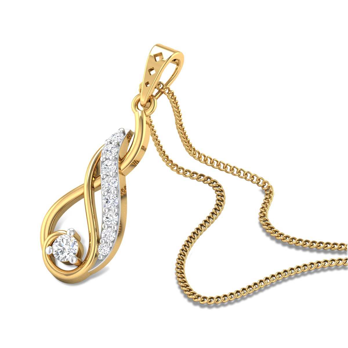 Noelia Diamond Pendant