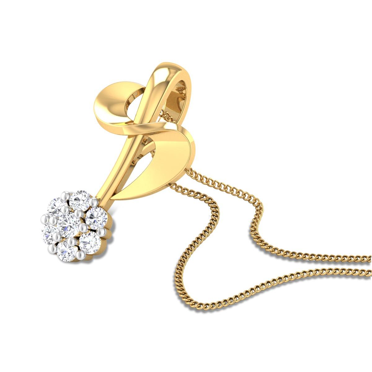 Symphony Diamond Pendant