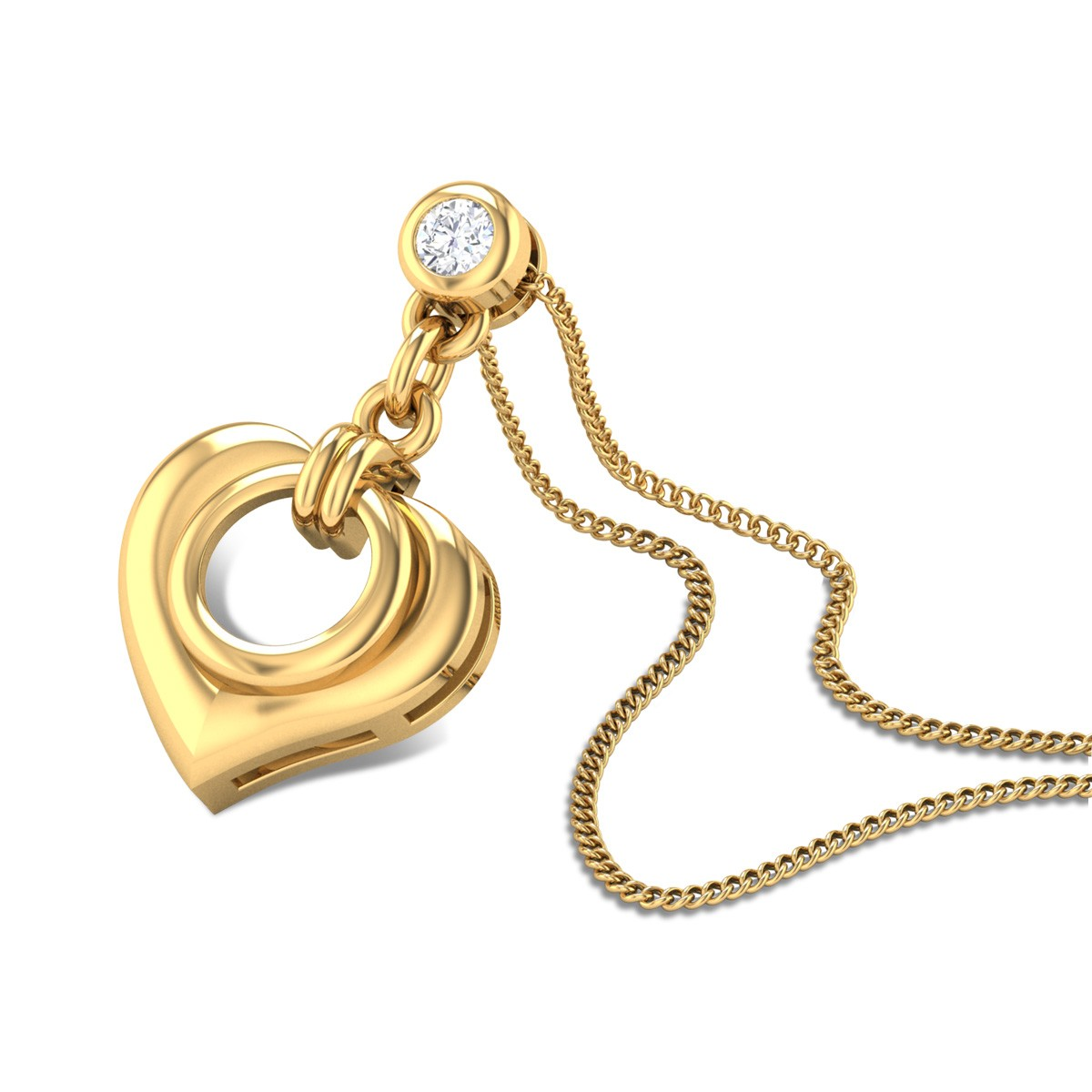 Pure Love Diamond Pendant