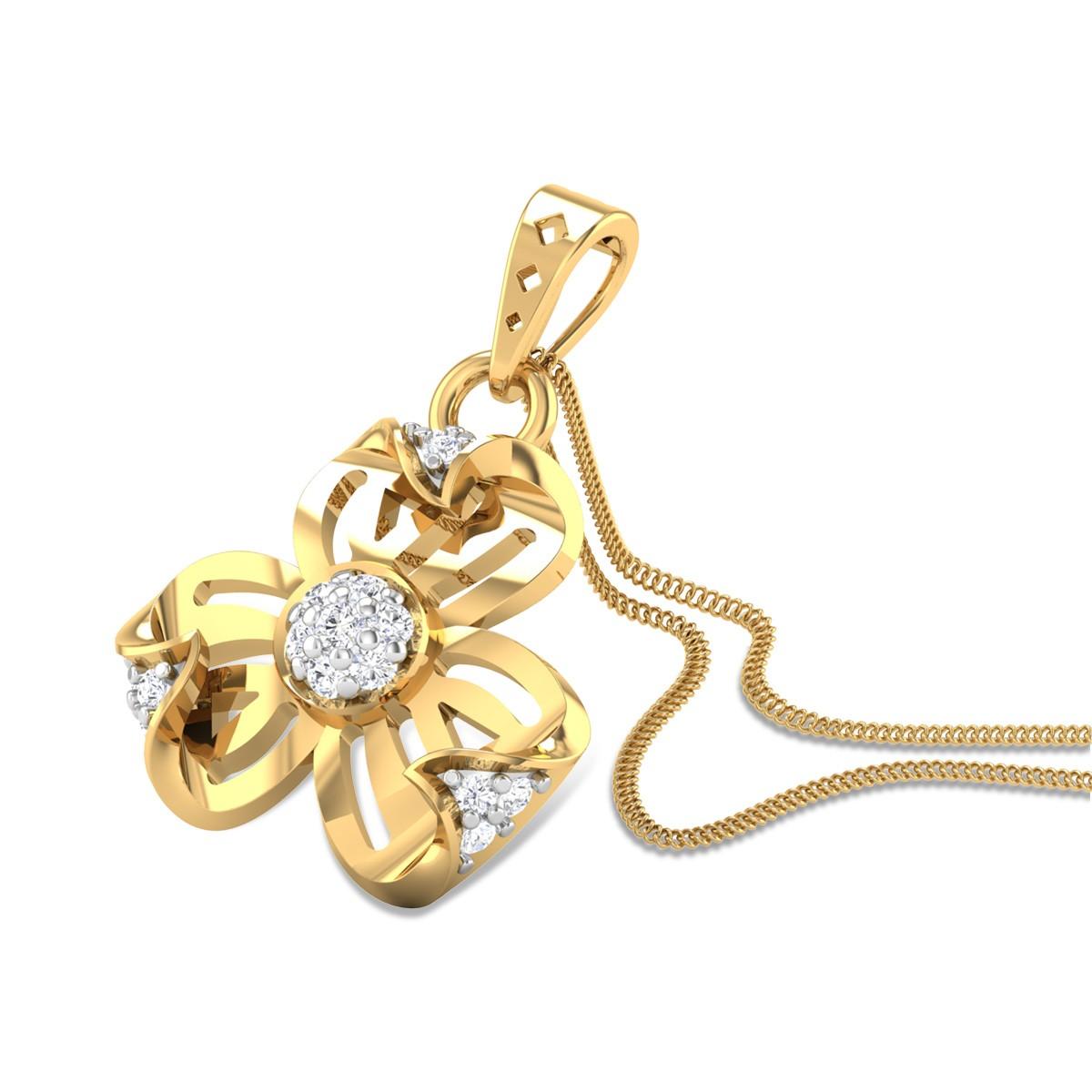 Nuria Diamond Pendant