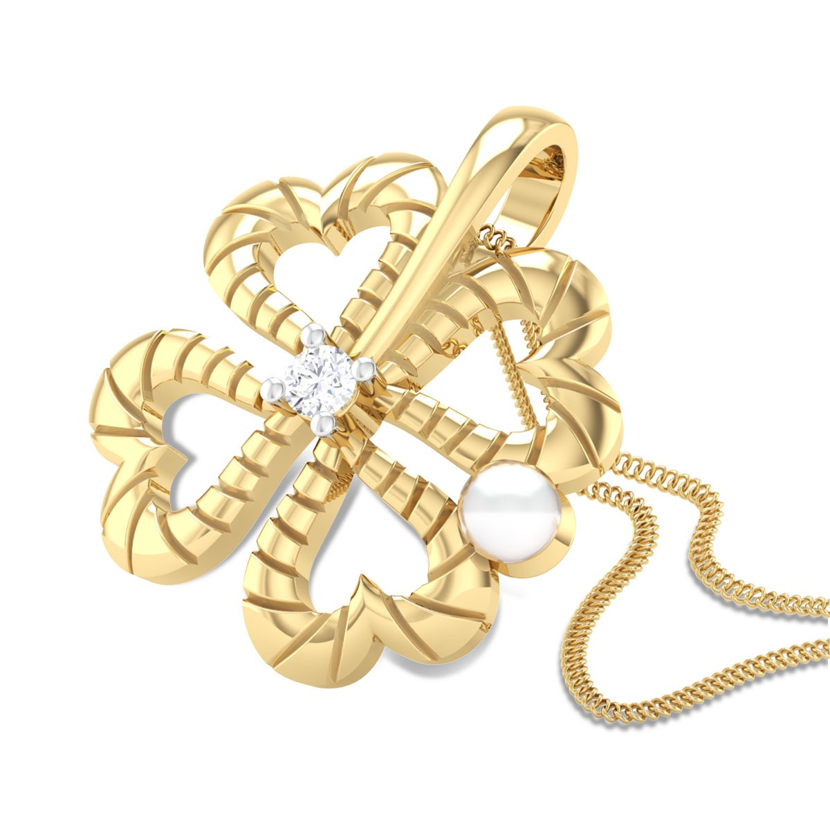 Tunda Diamond Pendant