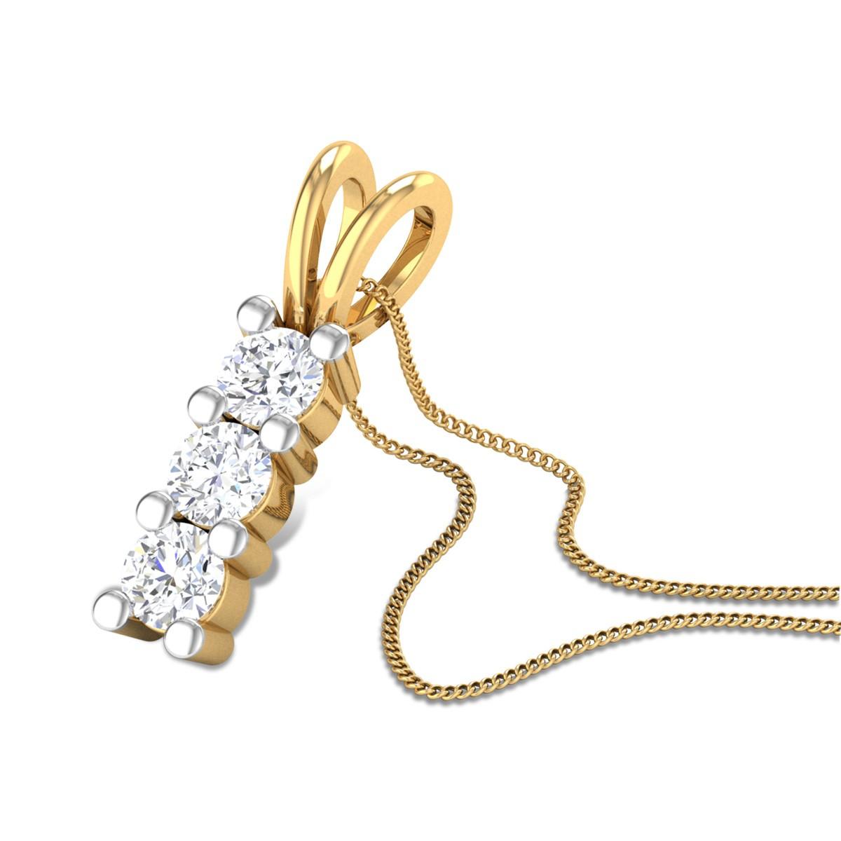 Arlet Diamond Pendant