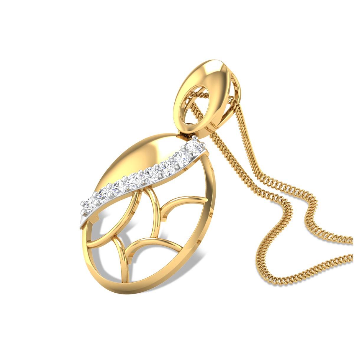Urjani Trellis Diamond Pendant