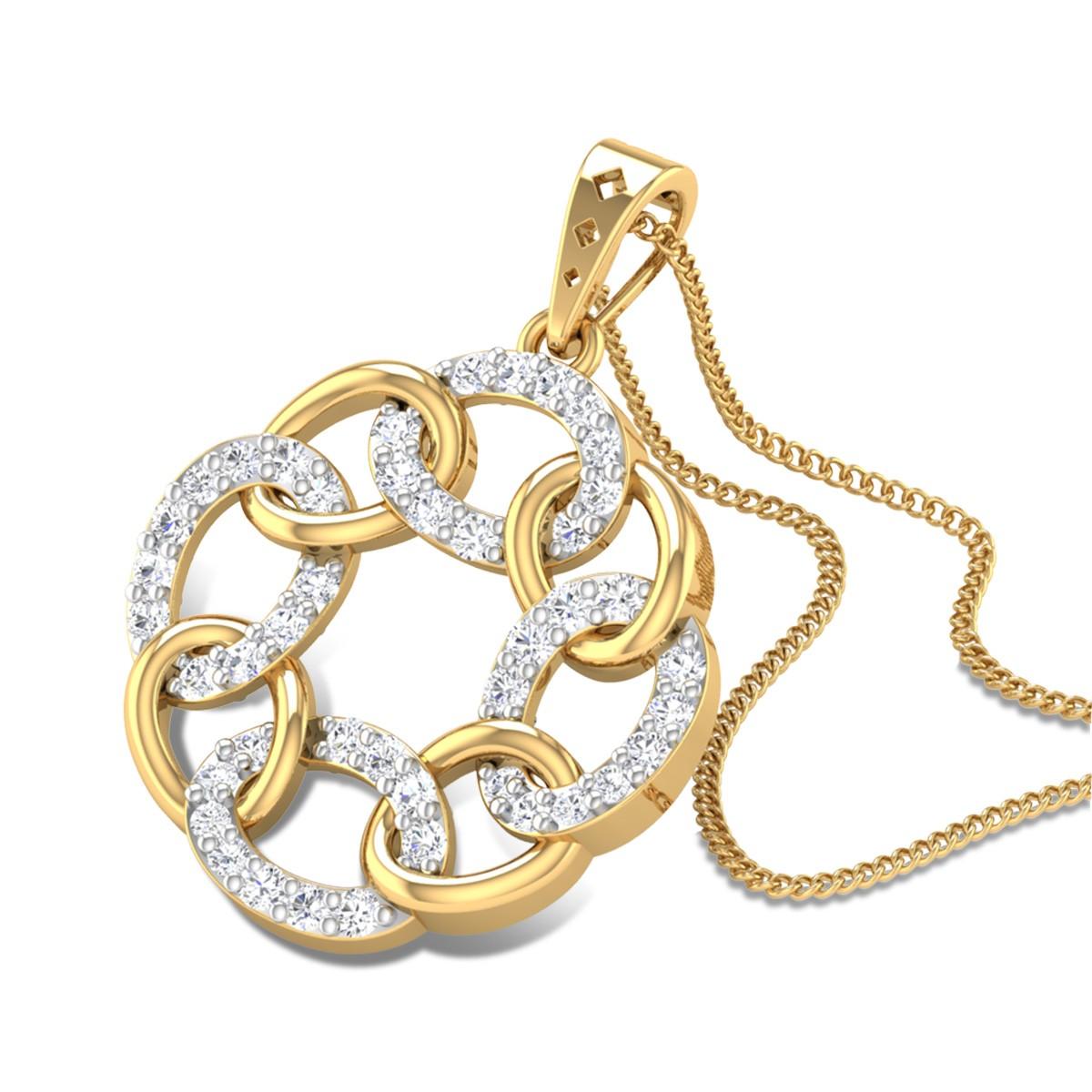 Paola Diamond Pendant