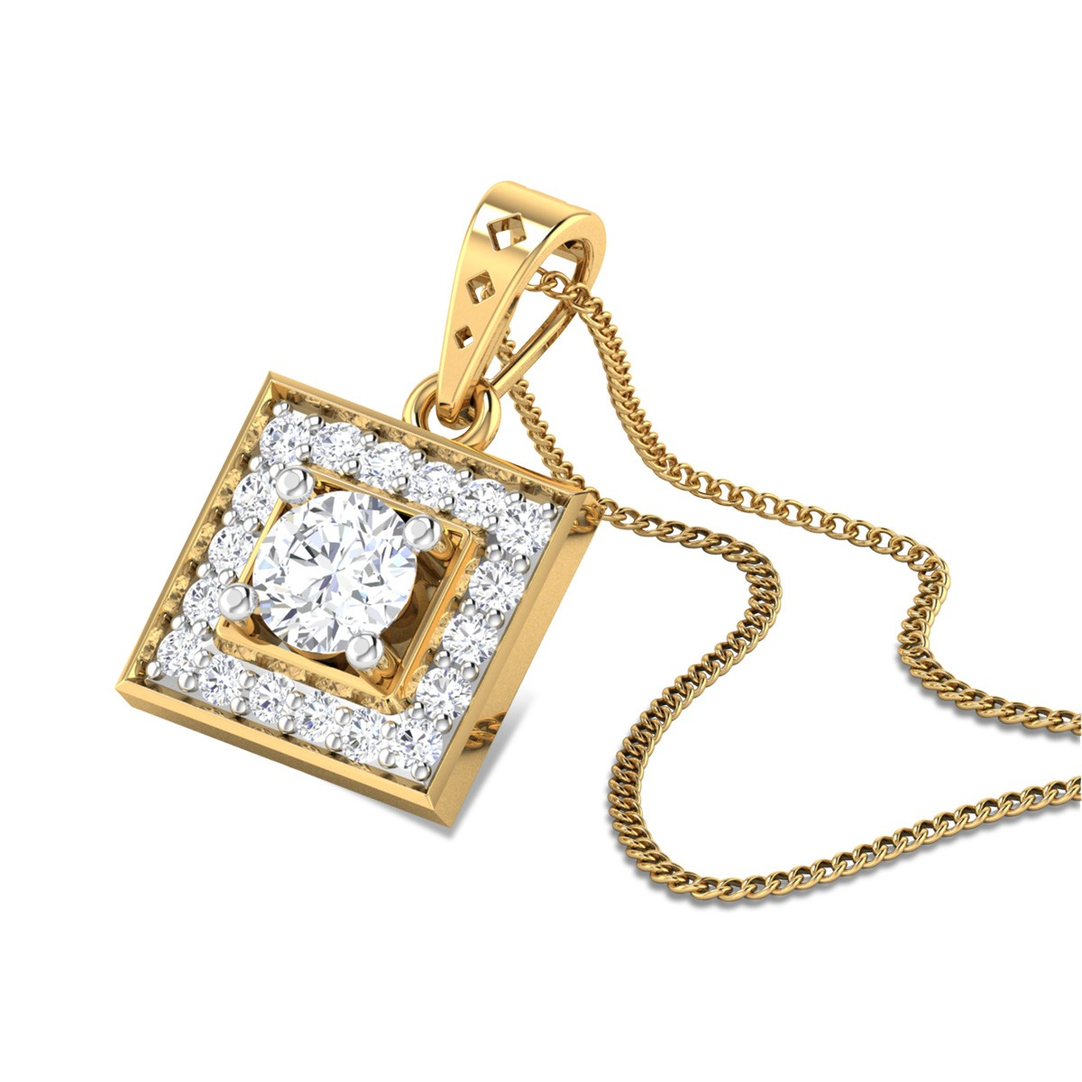 Alaxia Diamond Pendant