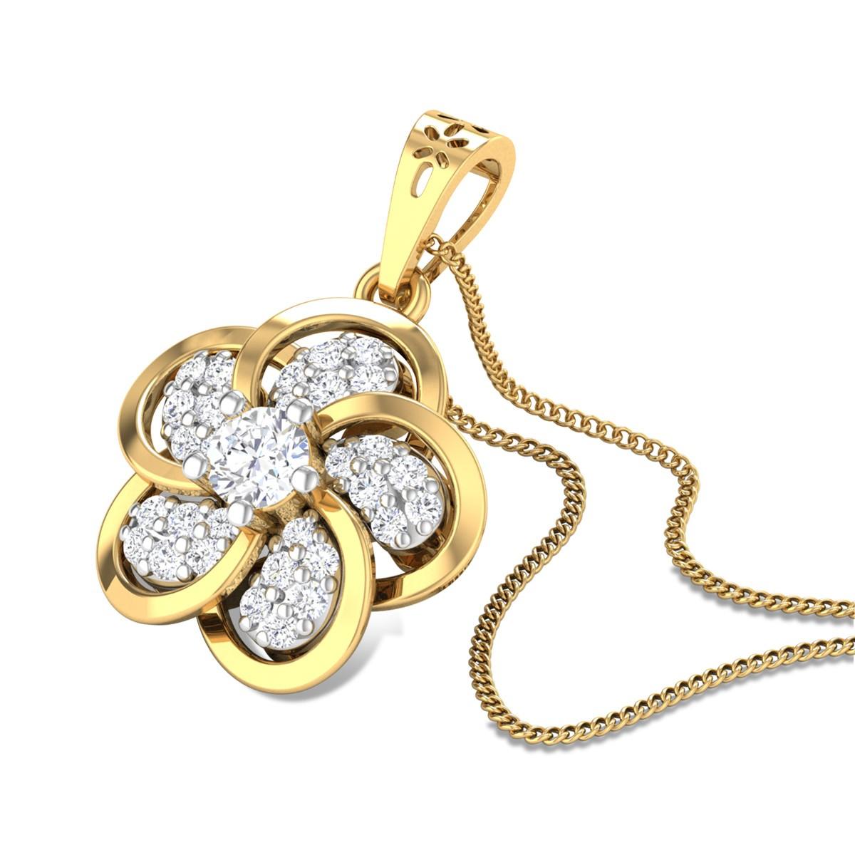 Sensuous Love Diamond Pendant